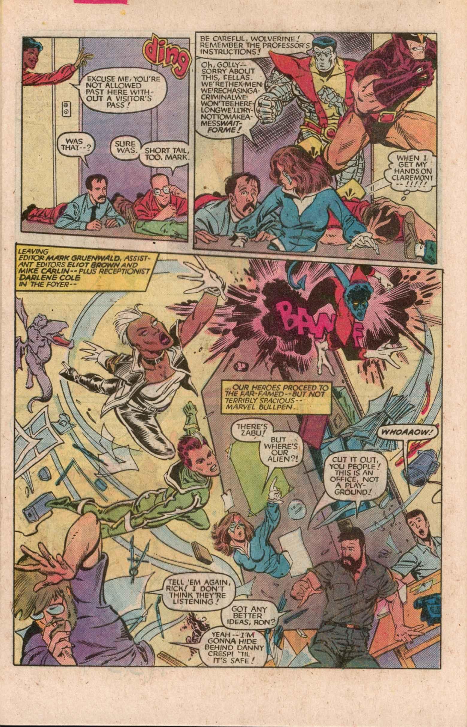 Read online Uncanny X-Men (1963) comic -  Issue # _Annual 7 - 27