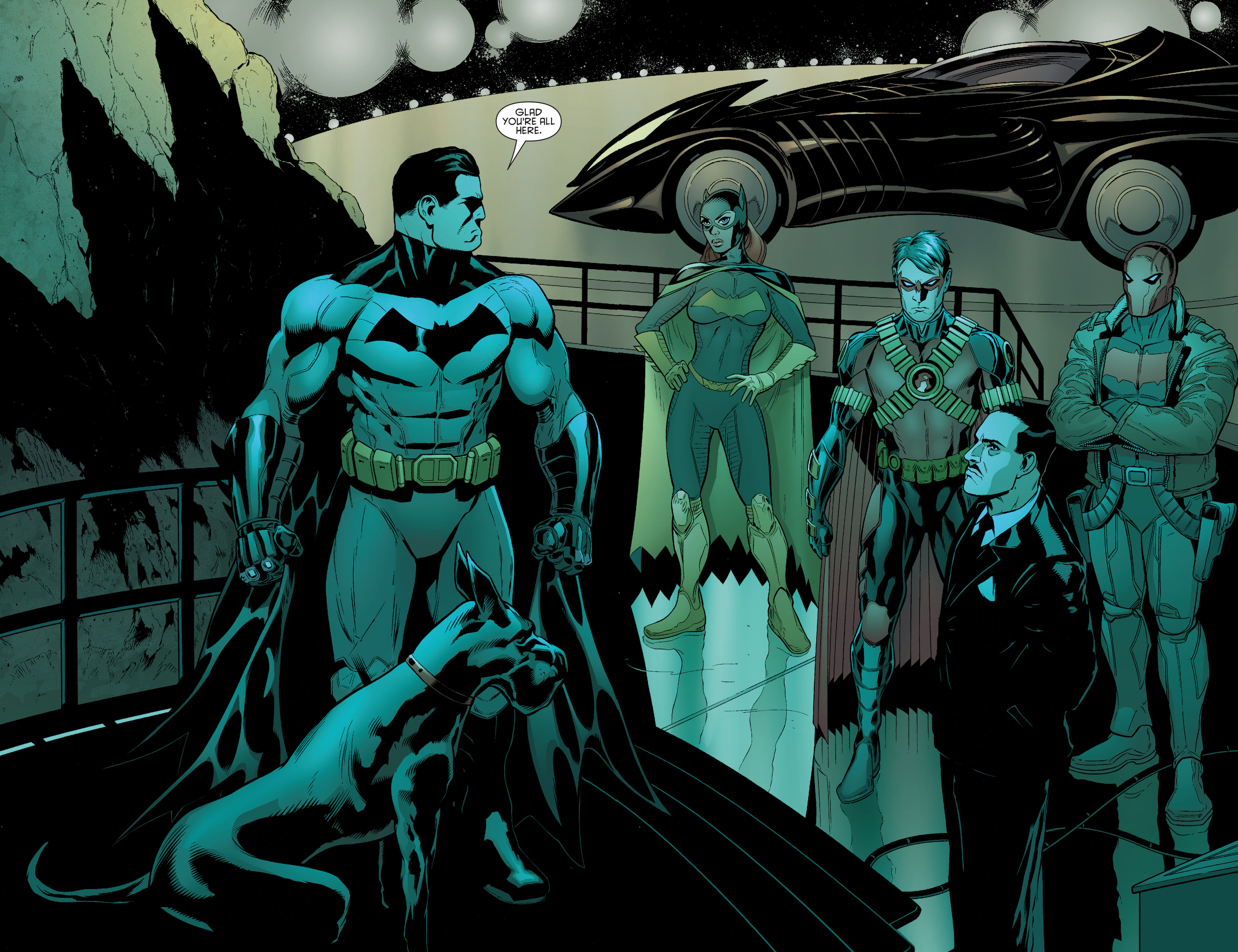 Read online Batman and Robin (2011) comic -  Issue #33 - 19