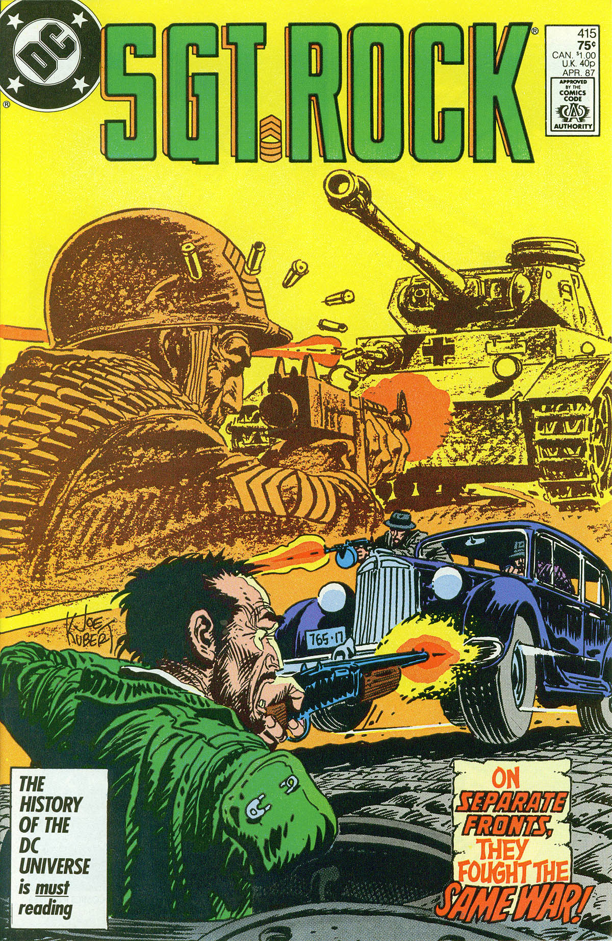 Read online Sgt. Rock comic -  Issue #415 - 1