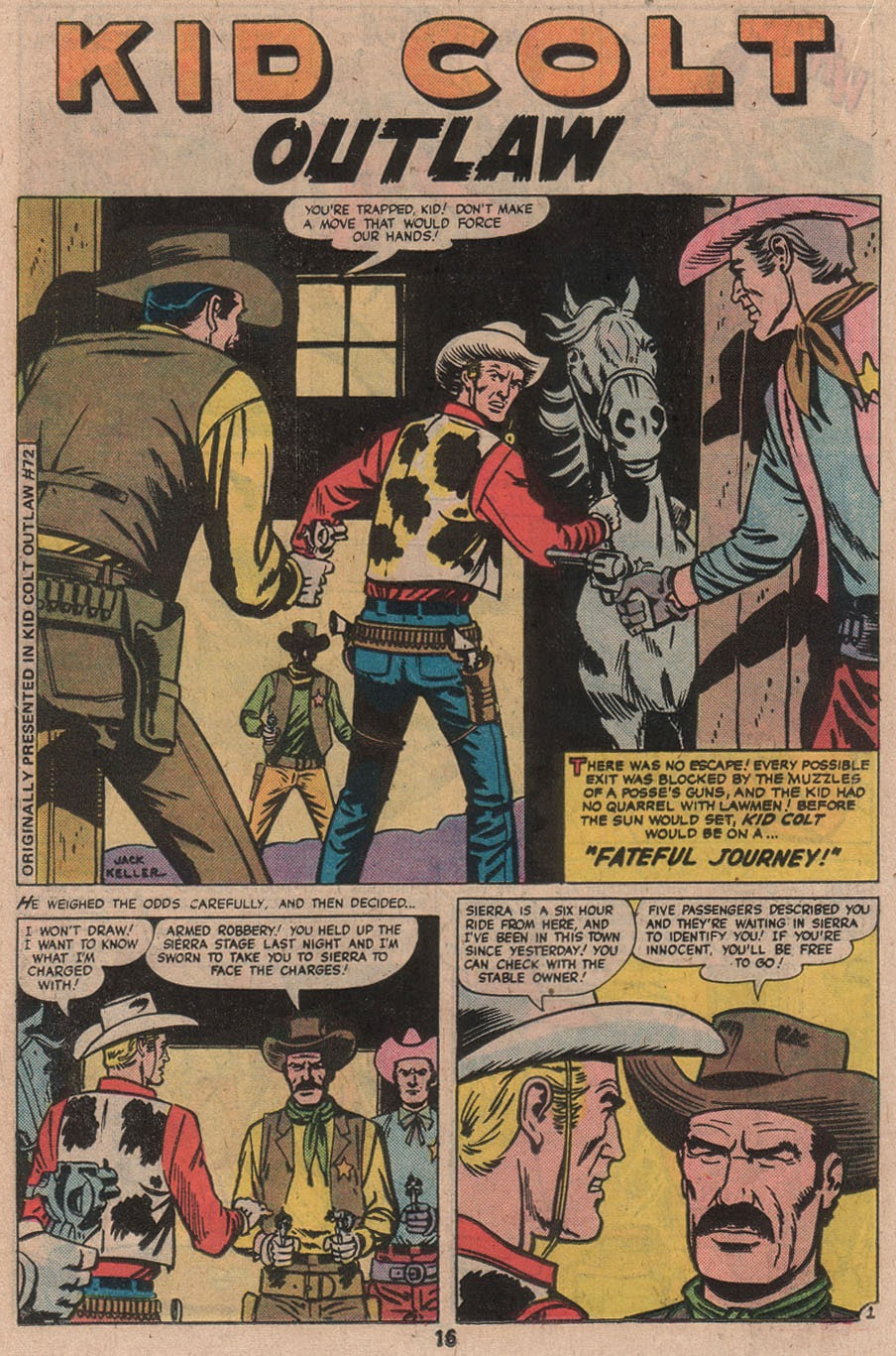 Kid Colt Outlaw issue 210 - Page 18