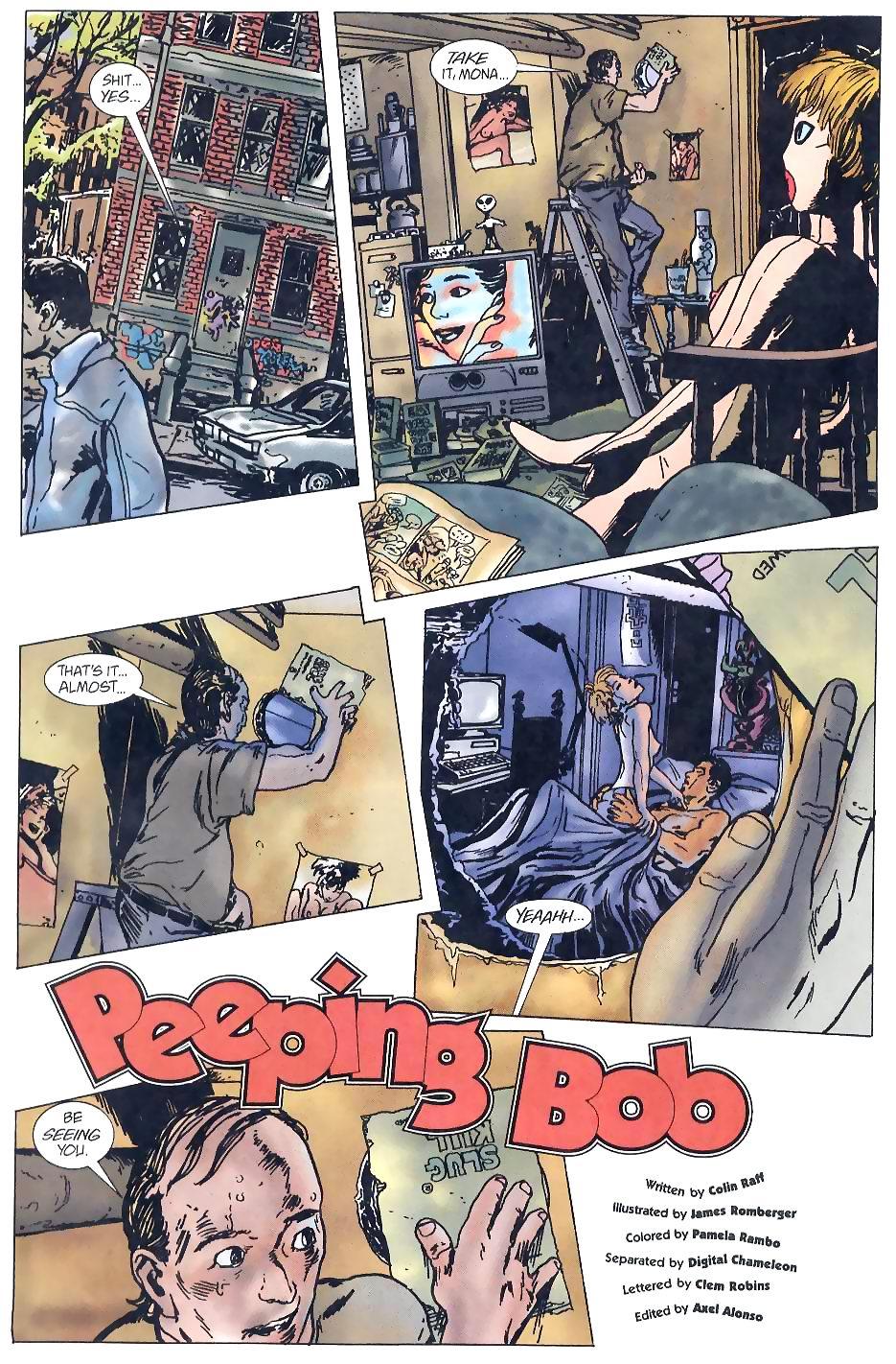 Read online Flinch comic -  Issue #5 - 7
