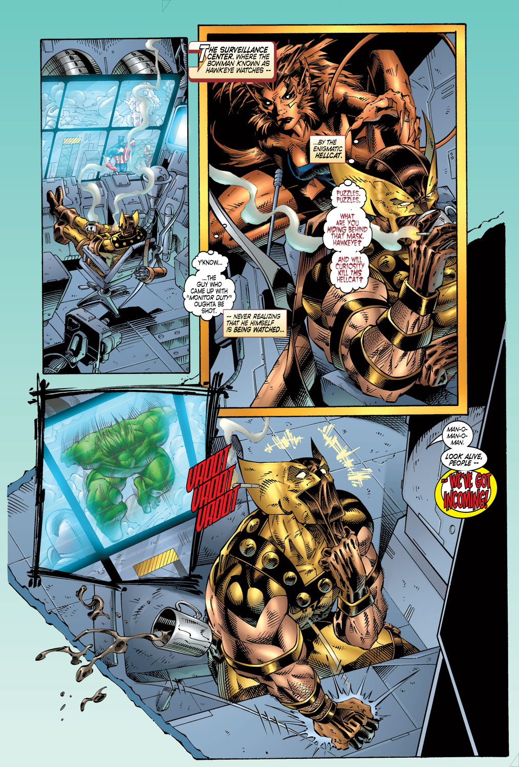 Read online Avengers (1996) comic -  Issue #4 - 16