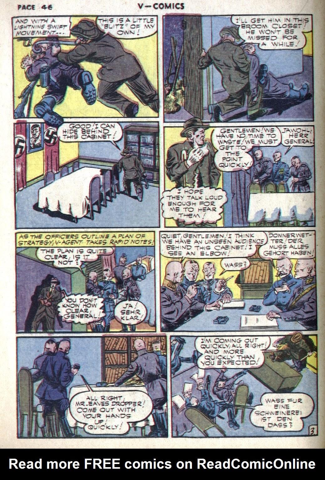Read online V...- Comics comic -  Issue #1 - 47