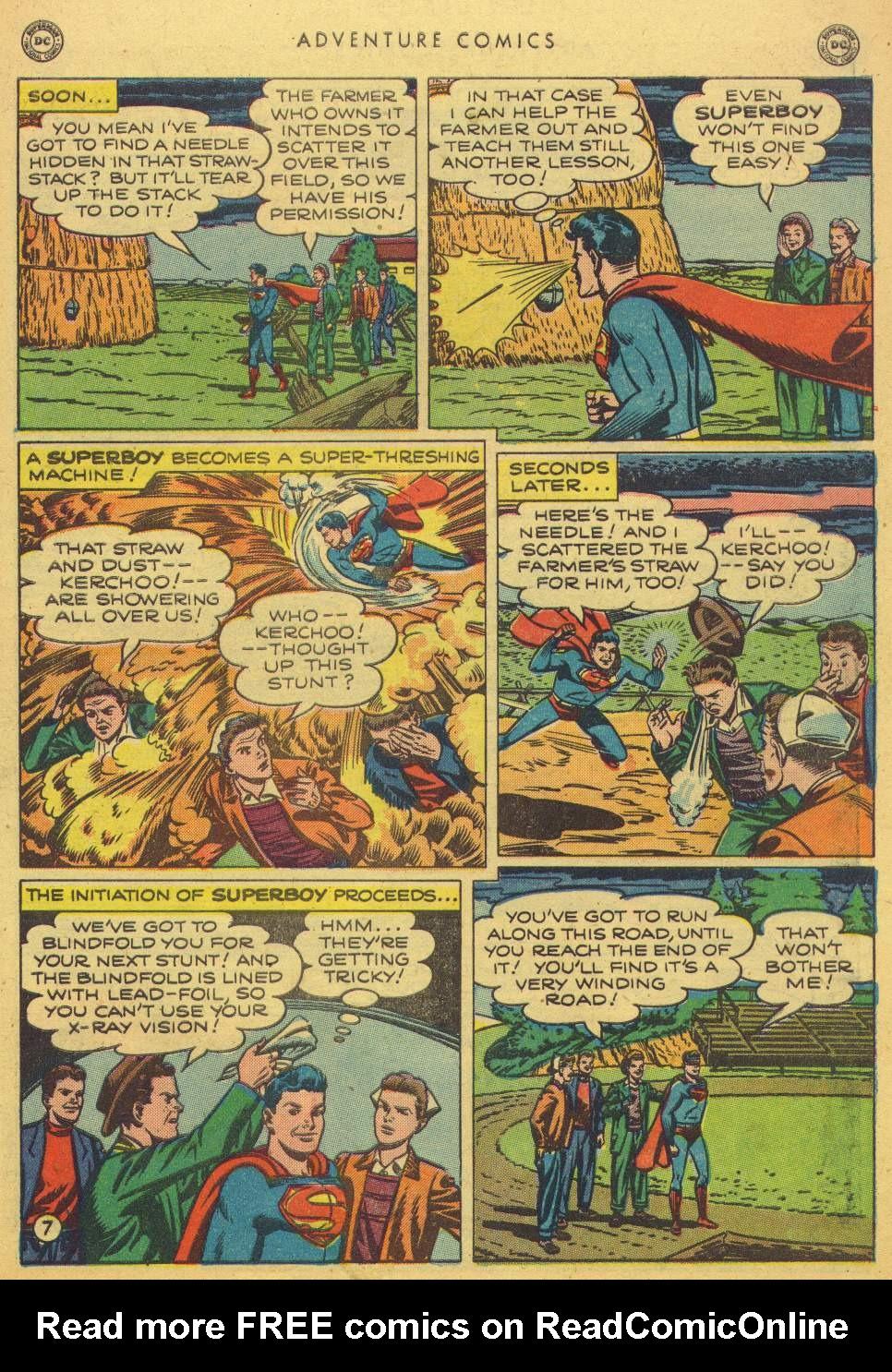 Read online Adventure Comics (1938) comic -  Issue #150 - 9