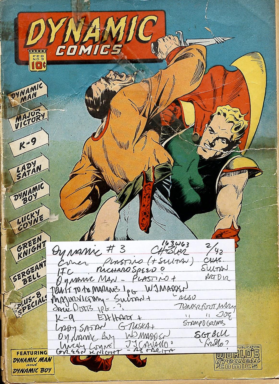 Dynamic Comics 3 Page 70