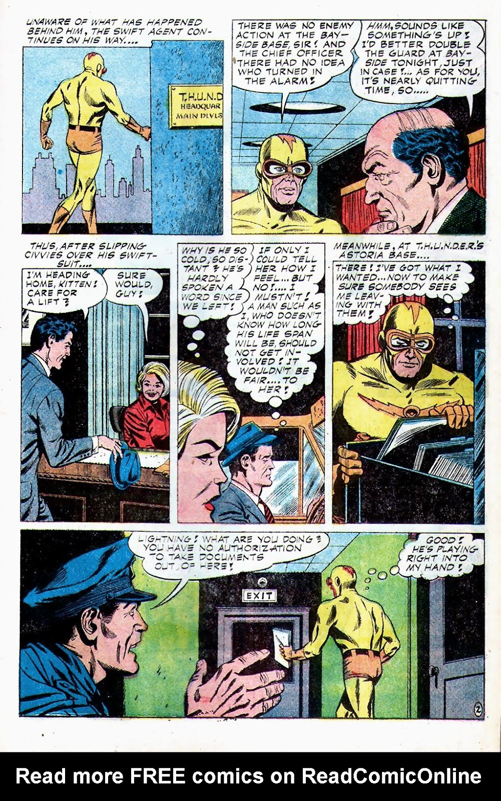T.H.U.N.D.E.R. Agents (1965) issue 13 - Page 24