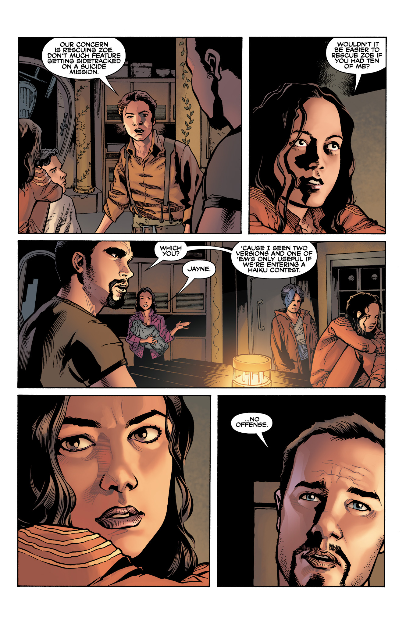 Read online Serenity: Firefly Class 03-K64  Leaves on the Wind comic -  Issue #3 - 19