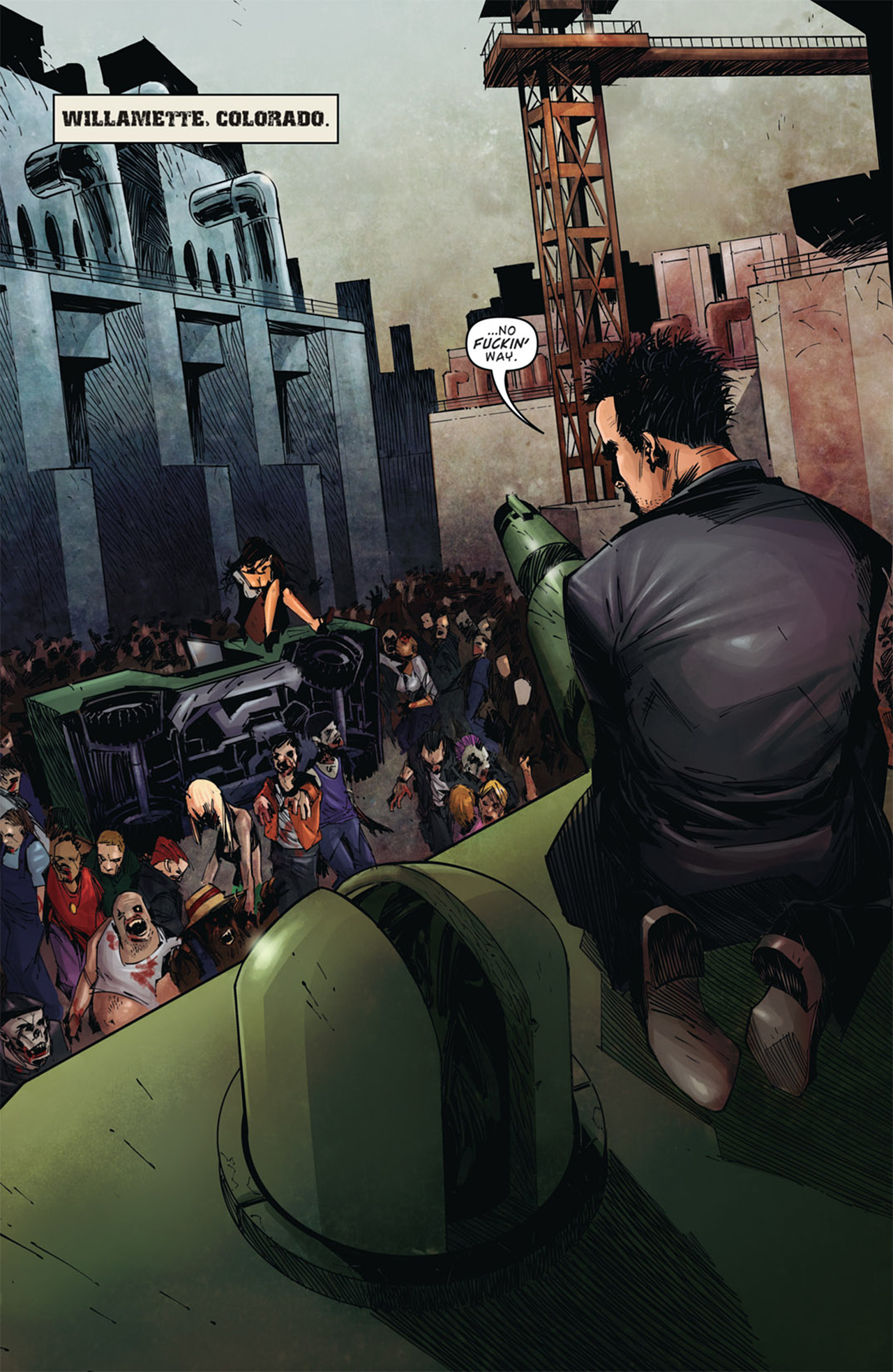 Read online Dead Rising: Road to Fortune comic -  Issue # TPB - 7