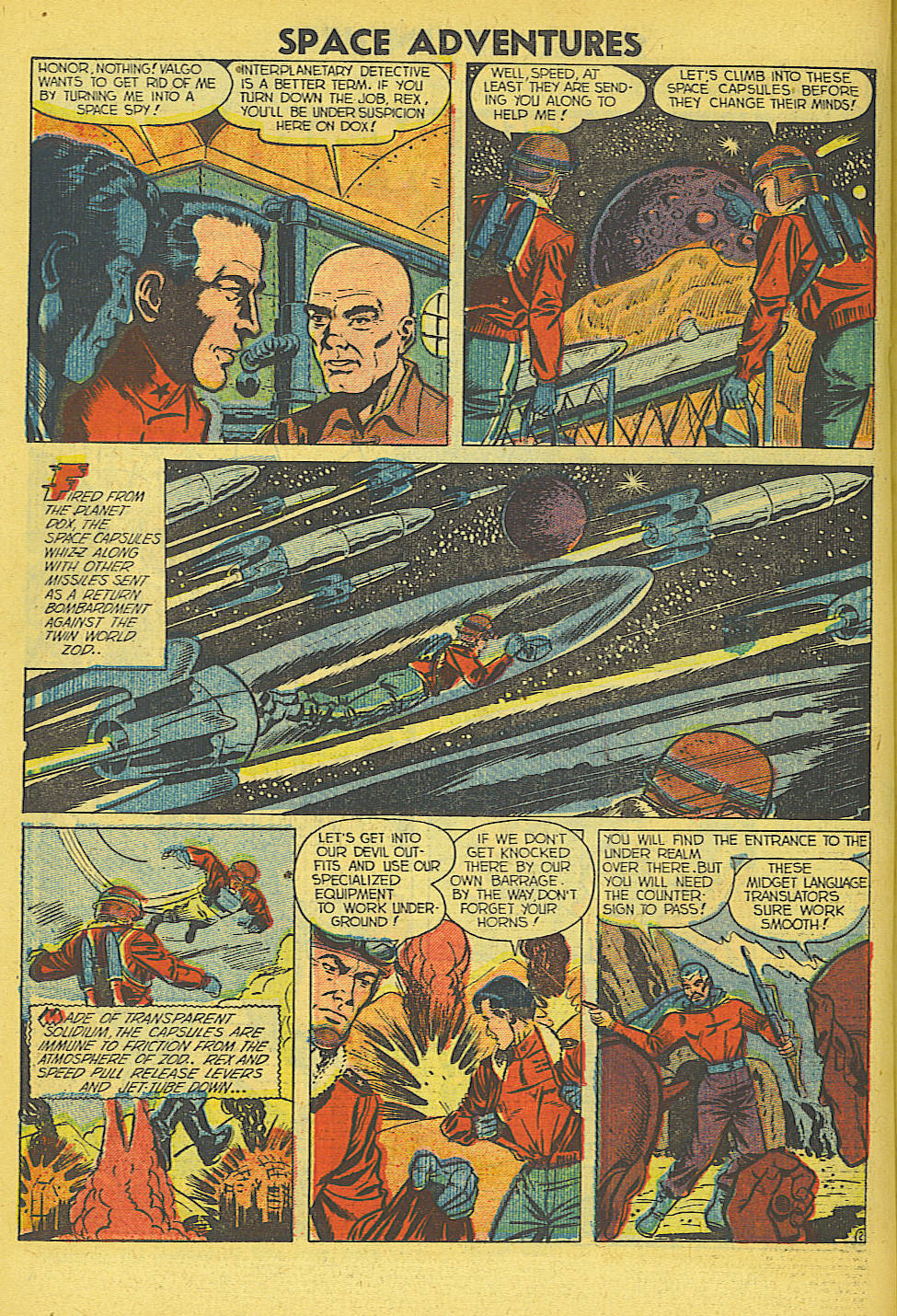 Space Adventures (1952) issue 5 - Page 19
