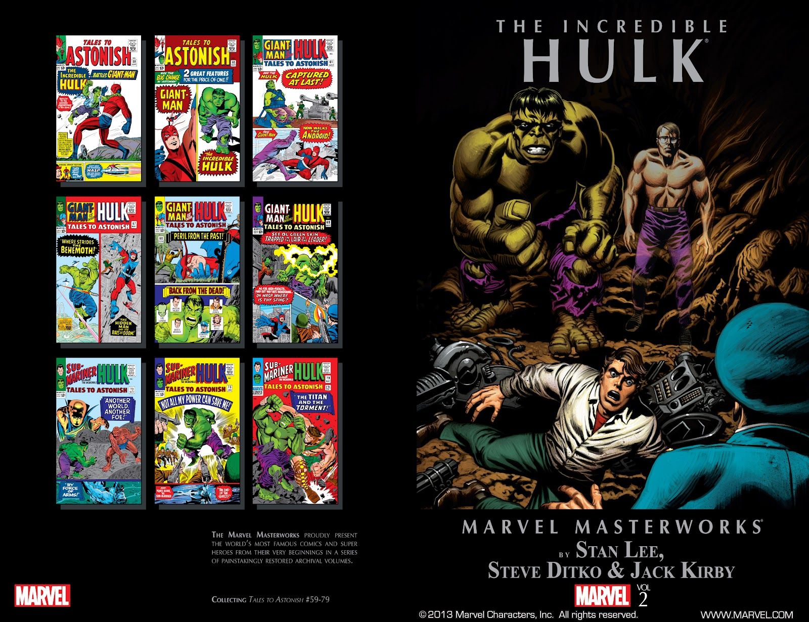 Read online Marvel Masterworks: The Incredible Hulk comic -  Issue # TPB 2 (Part 1) - 2