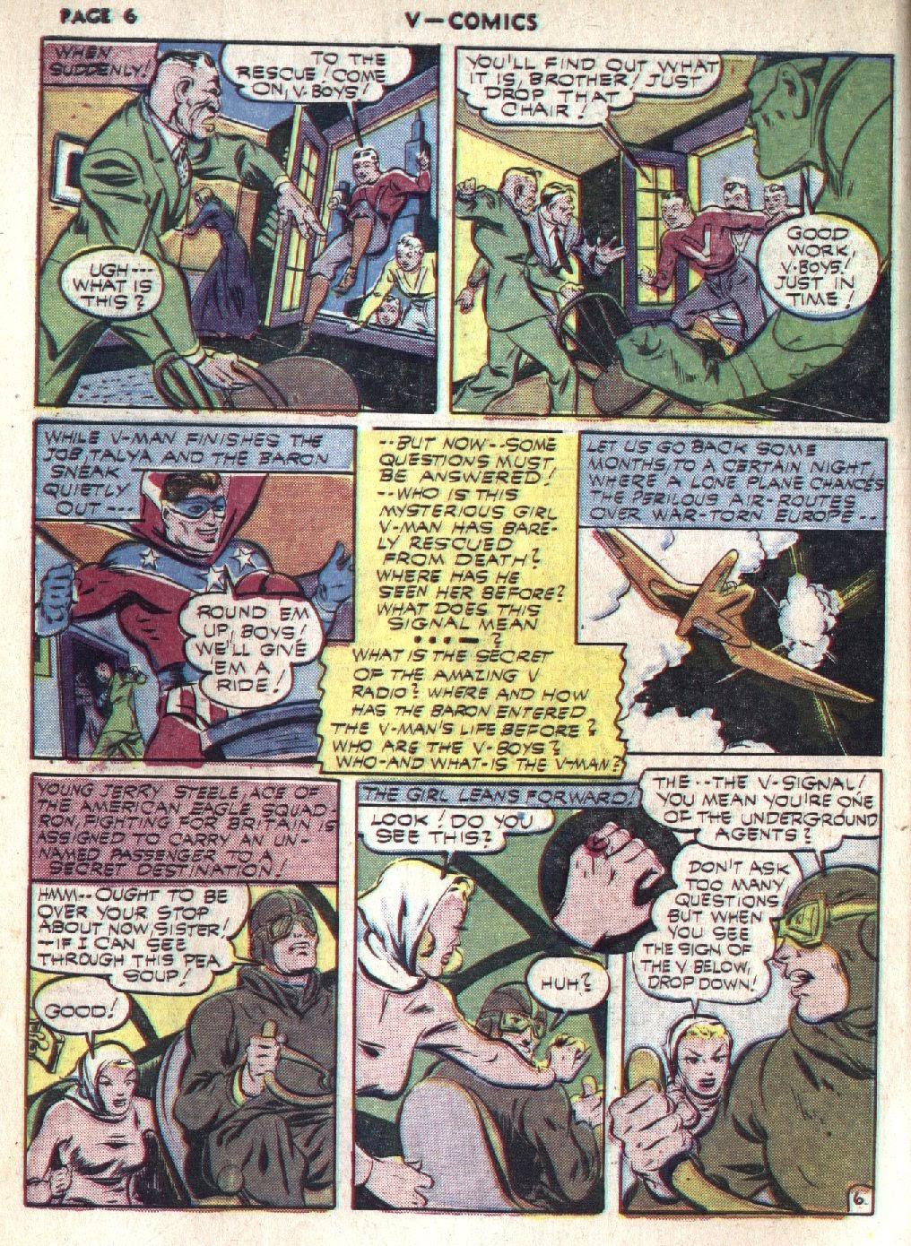 Read online V...- Comics comic -  Issue #1 - 8