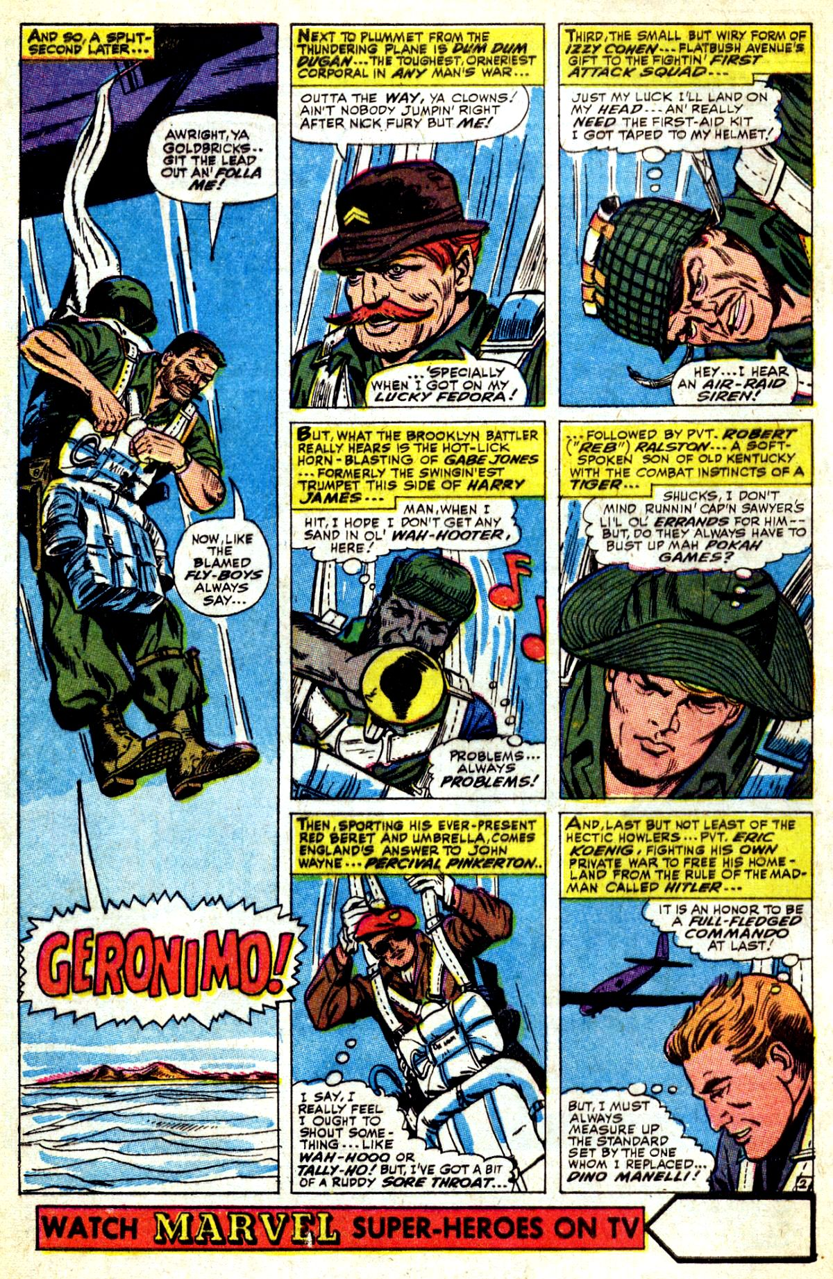Read online Sgt. Fury comic -  Issue #37 - 4