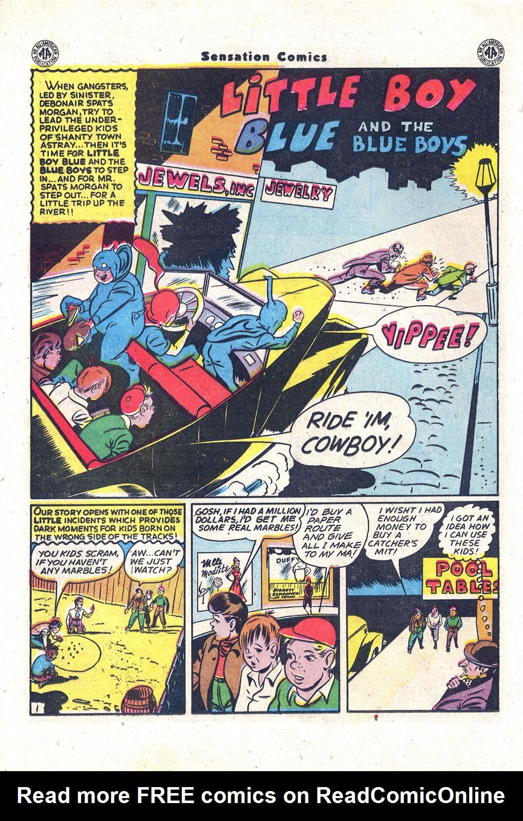 Read online Sensation (Mystery) Comics comic -  Issue #43 - 15
