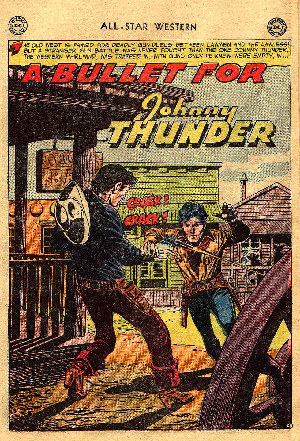 Read online All-Star Western (1951) comic -  Issue #80 - 27