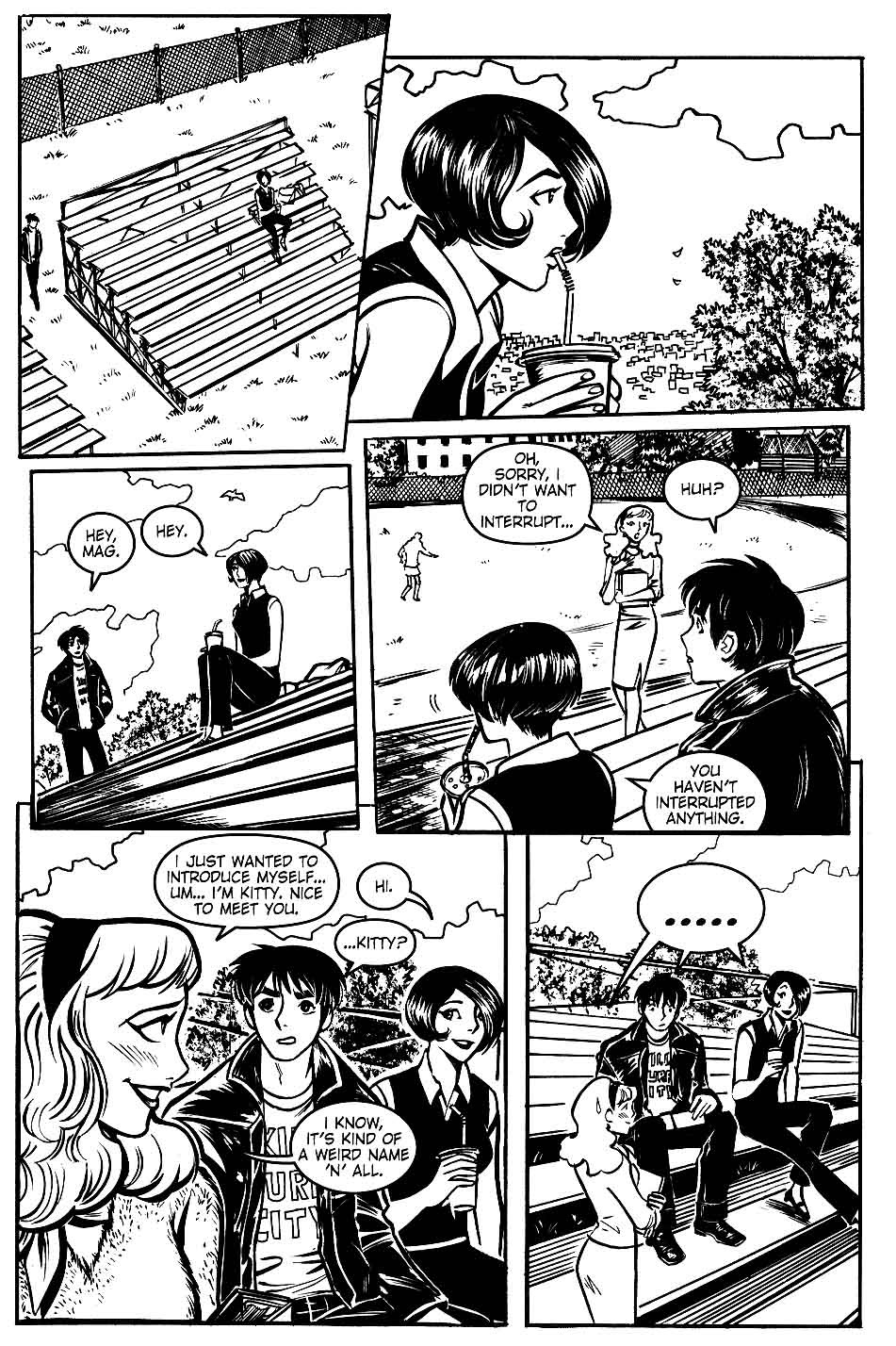 Read online Scooter Girl comic -  Issue #1 - 22