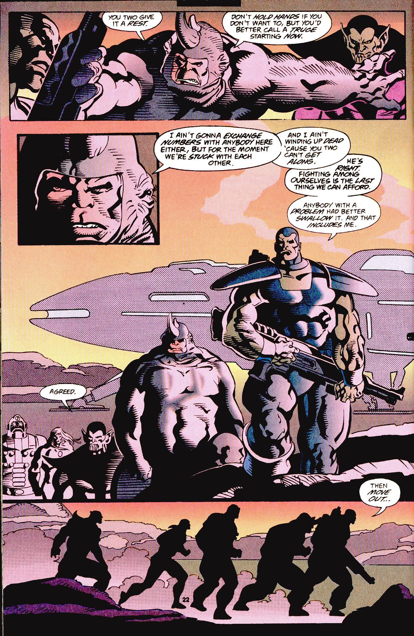 Read online Secret Defenders comic -  Issue #12 - 14
