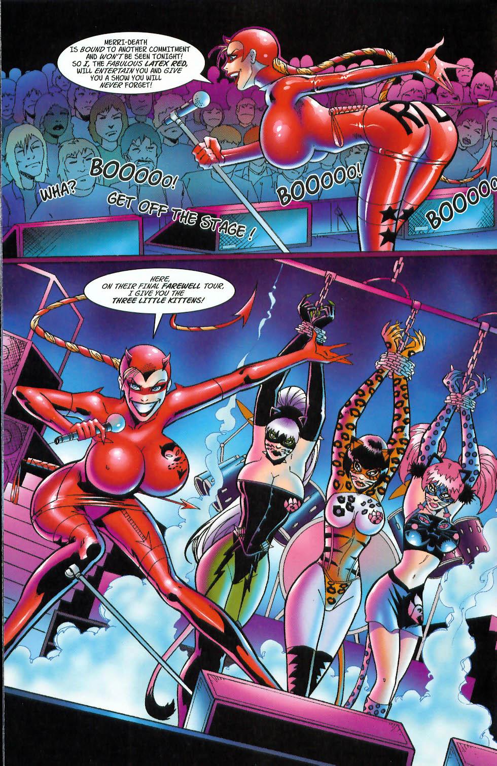 Read online 3 Little Kittens: Purrr-fect Weapons comic -  Issue #3 - 10