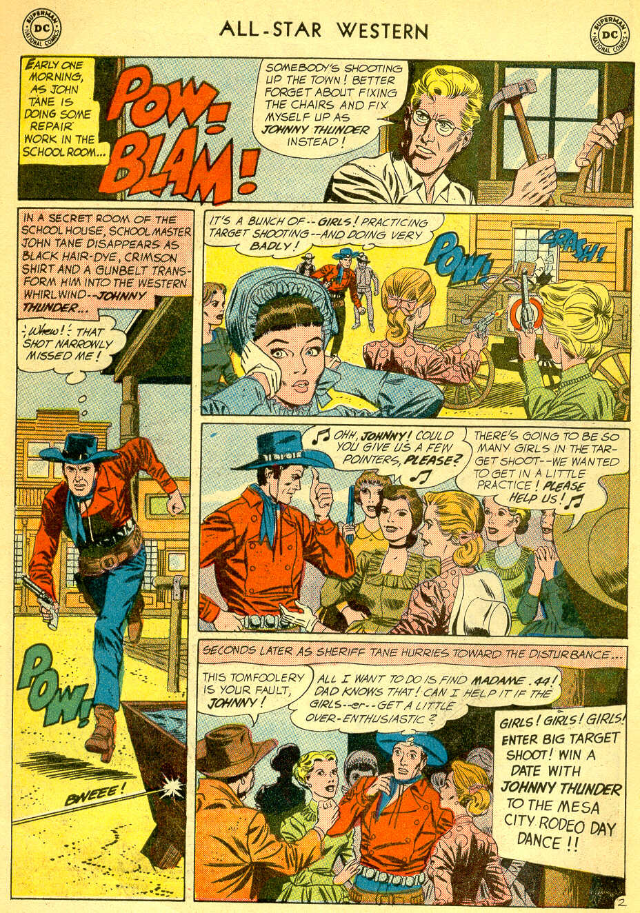 Read online All-Star Western (1951) comic -  Issue #118 - 4