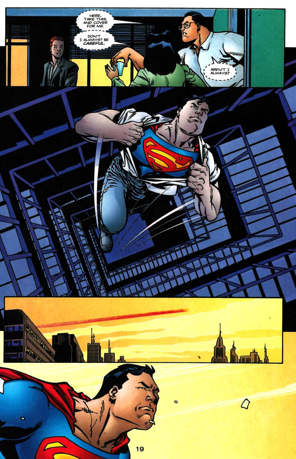 Read online Adventures of Superman (1987) comic -  Issue #617 - 20