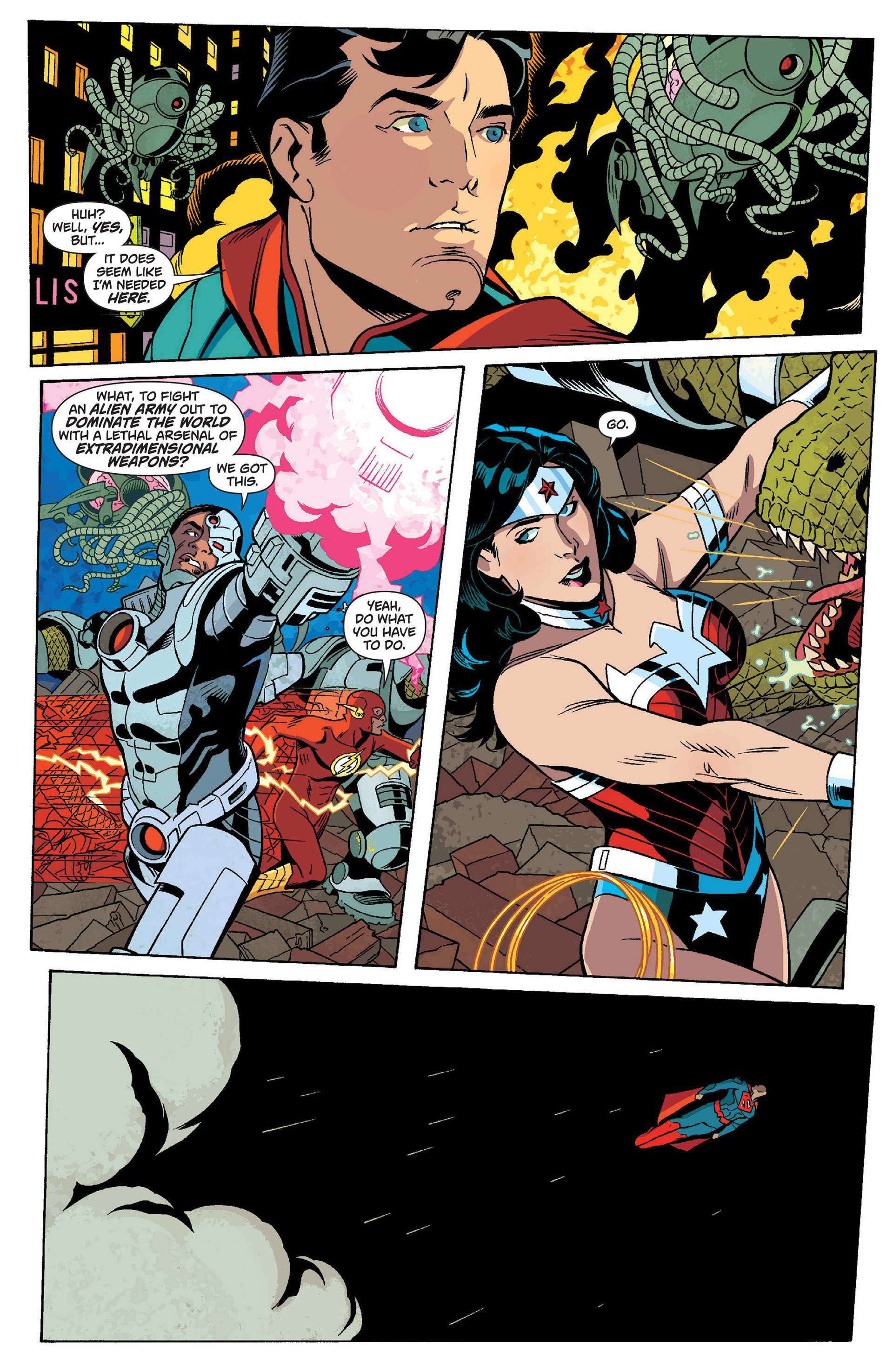 Read online Action Comics (2011) comic -  Issue #14 - 25