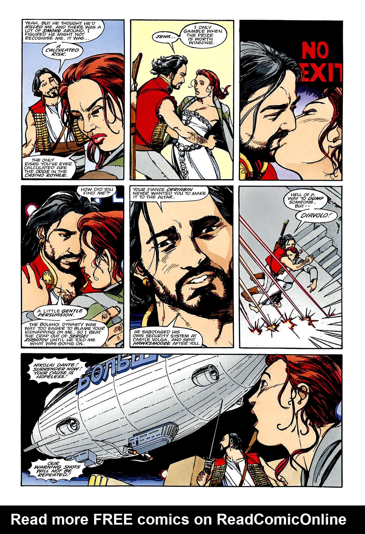 Read online Nikolai Dante comic -  Issue # TPB 3 - 107