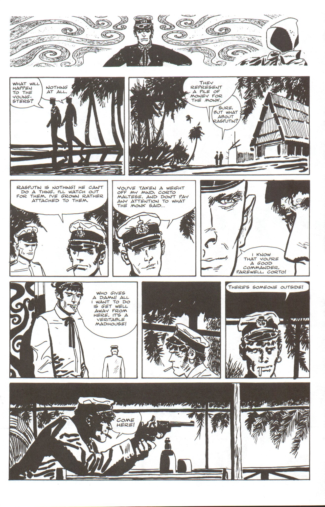 Read online Corto Maltese: Ballad of the Salt Sea comic -  Issue #4 - 7