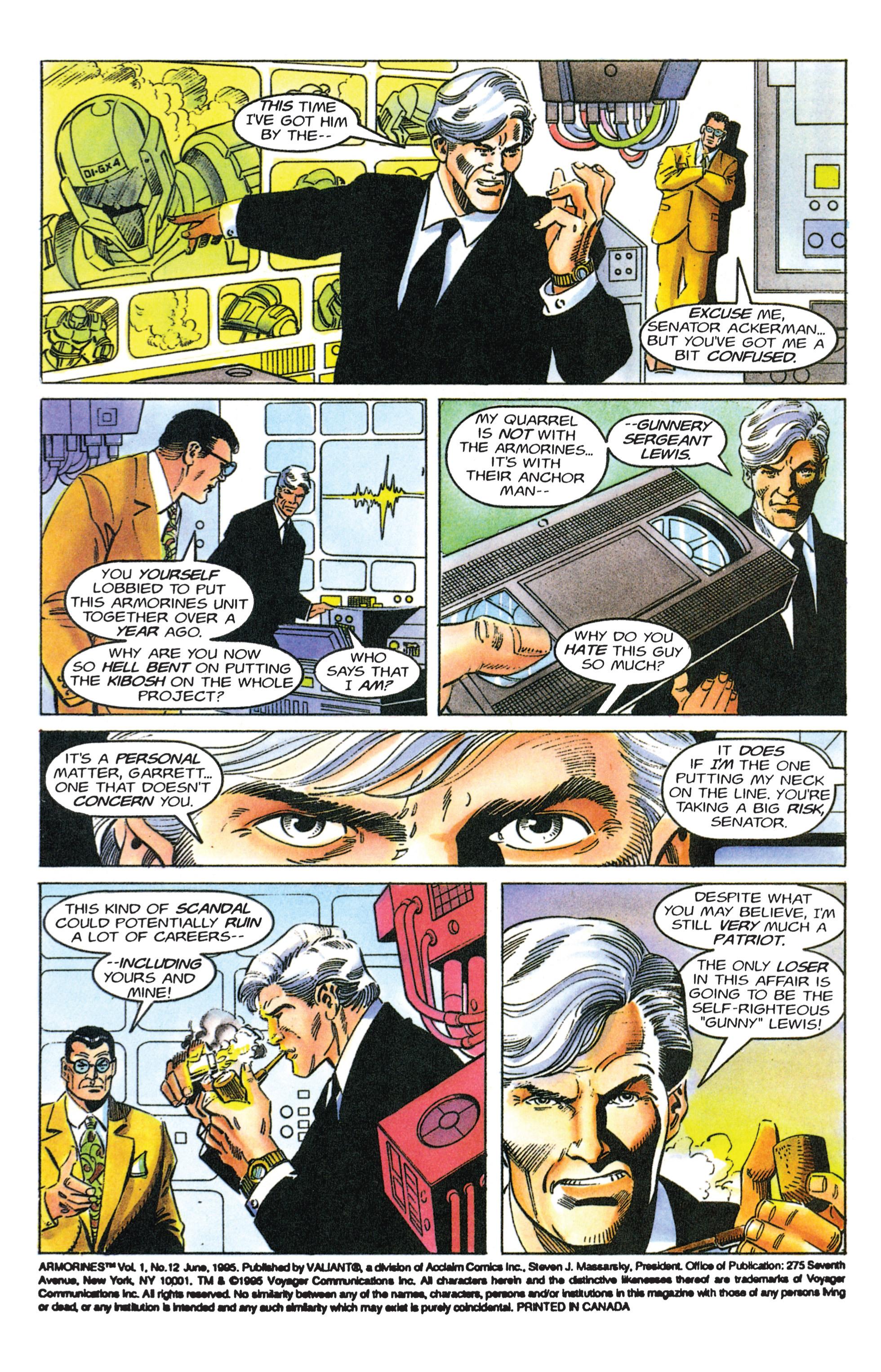 Read online Armorines comic -  Issue #12 - 3