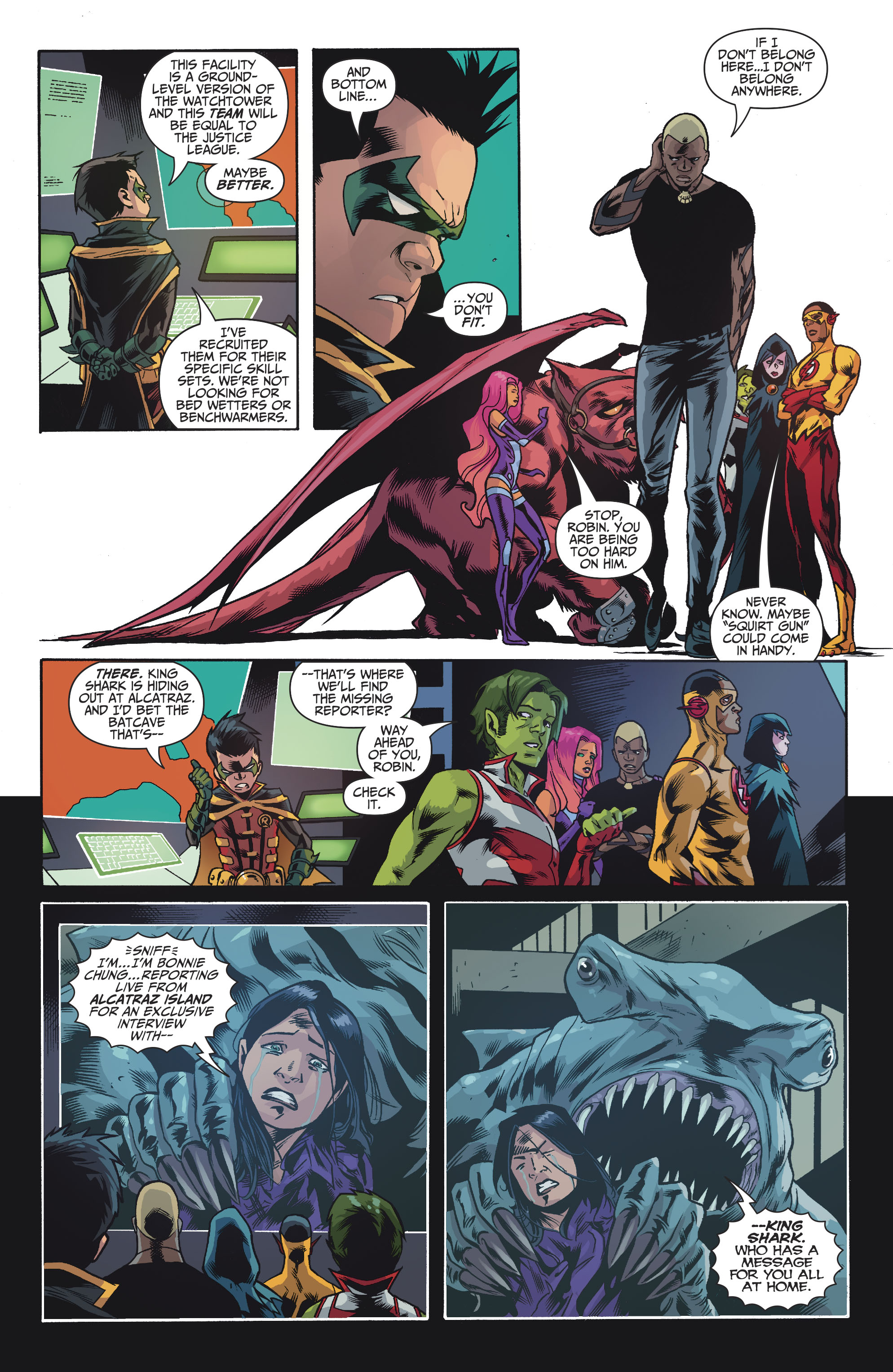 Read online Teen Titans (2016) comic -  Issue #7 - 10
