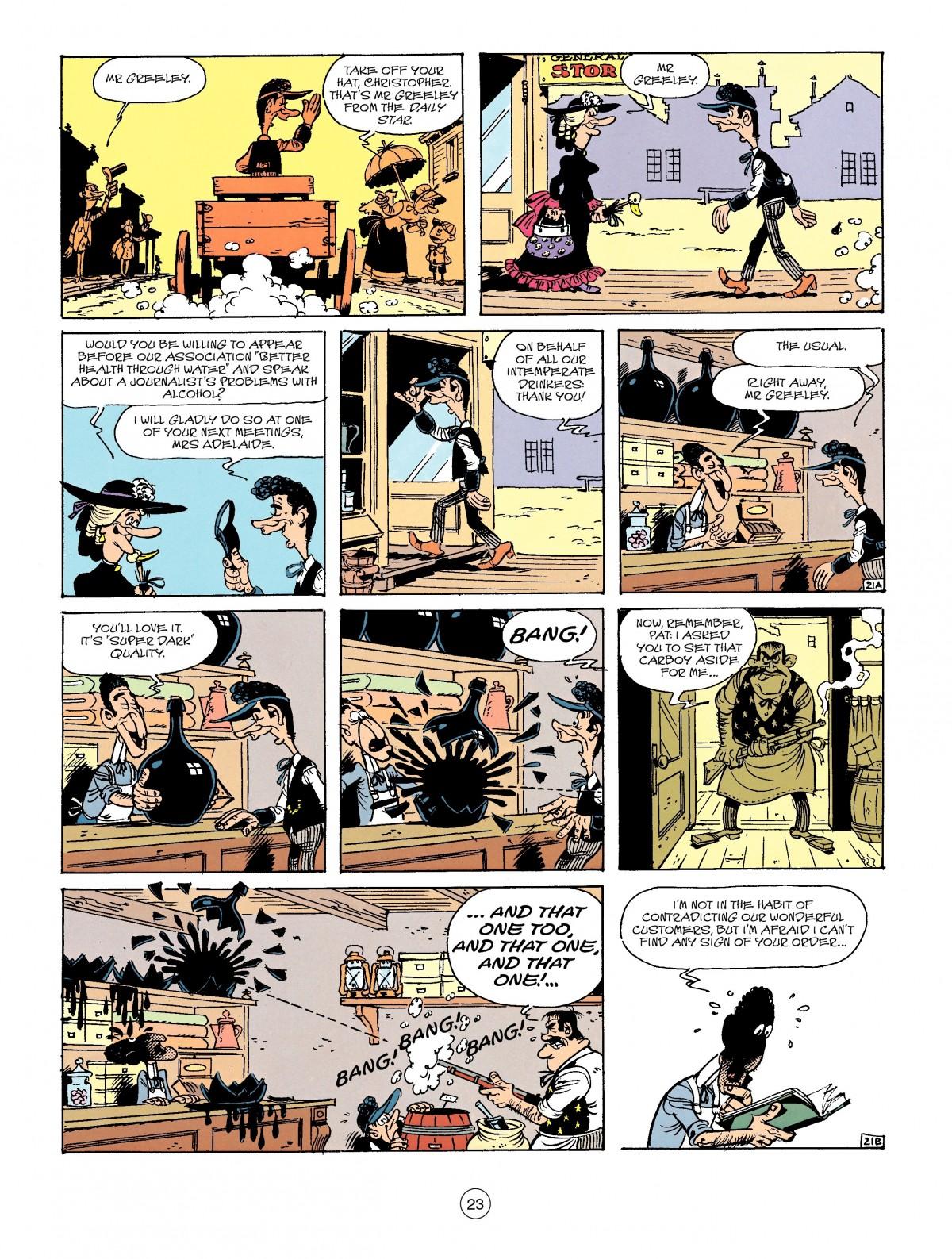 Read online A Lucky Luke Adventure comic -  Issue #41 - 23