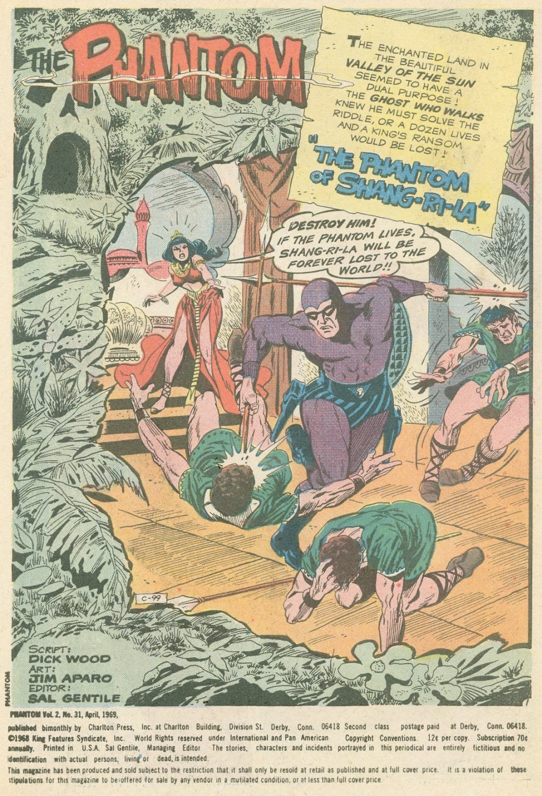 The Phantom (1969) issue 31 - Page 2