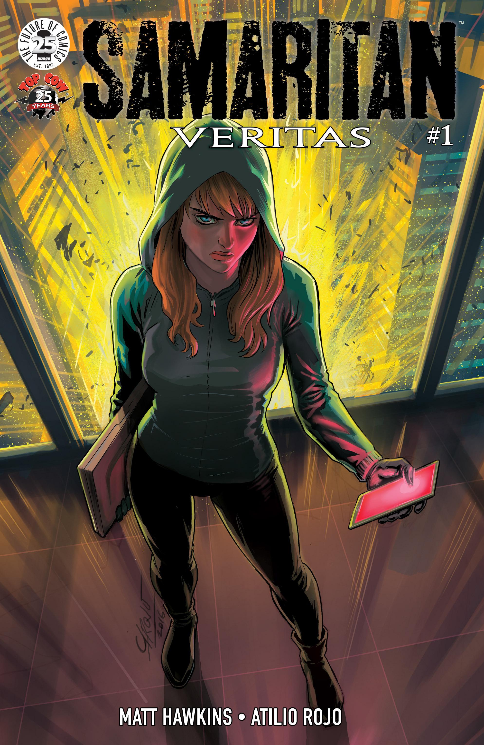 Read online Samaritan: Vertias comic -  Issue #1 - 1