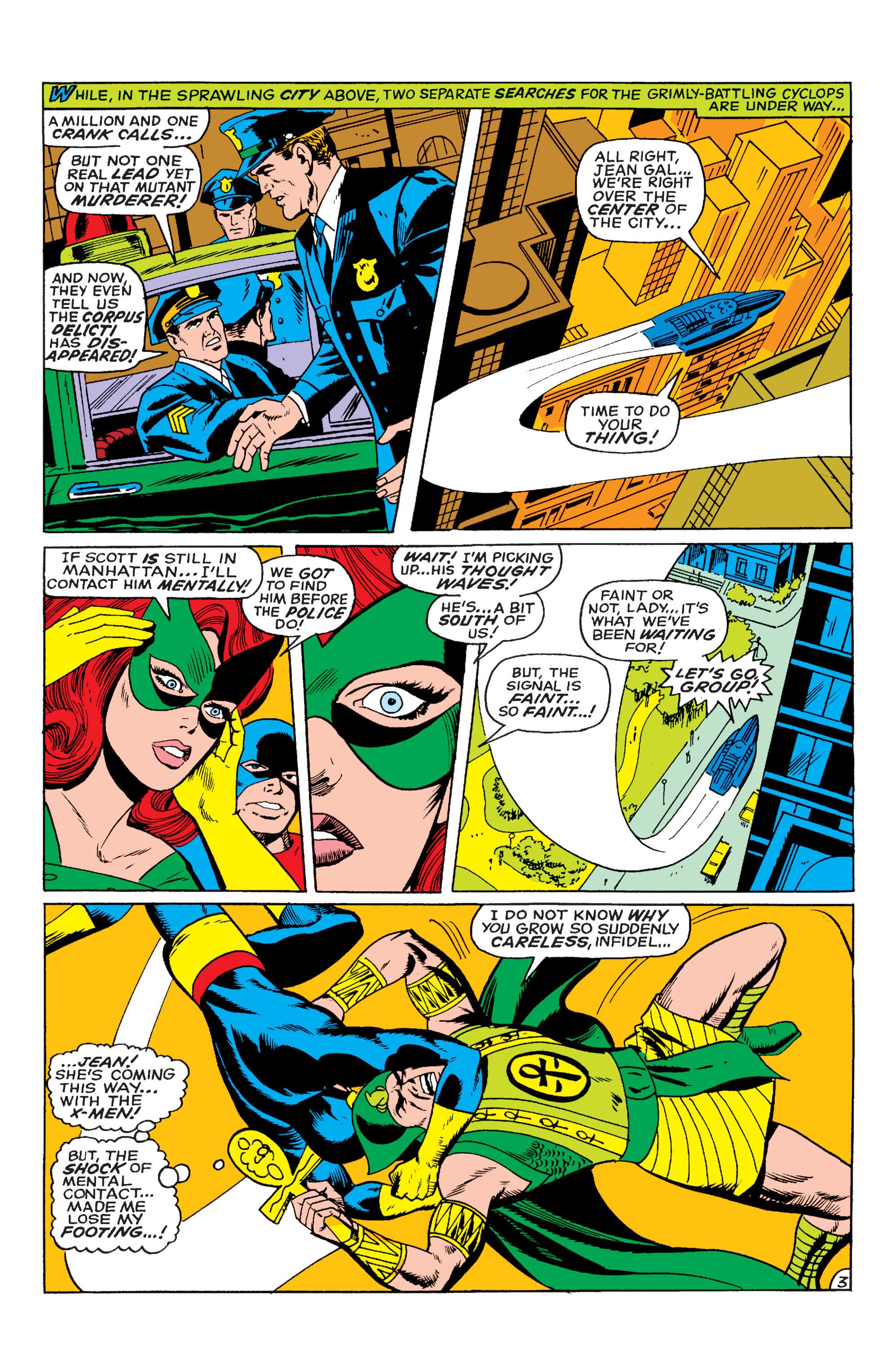 Uncanny X-Men (1963) 55 Page 3