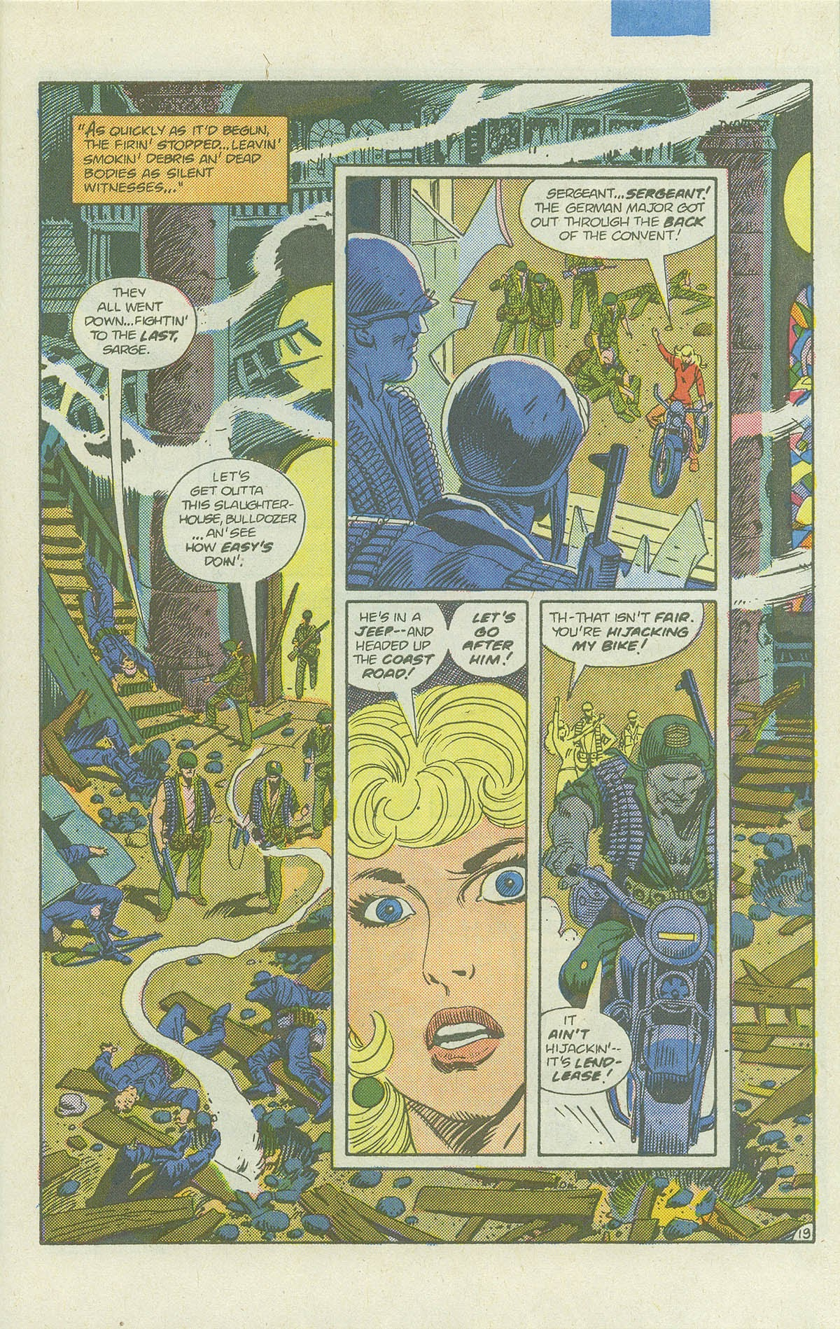 Read online Sgt. Rock comic -  Issue #422 - 26
