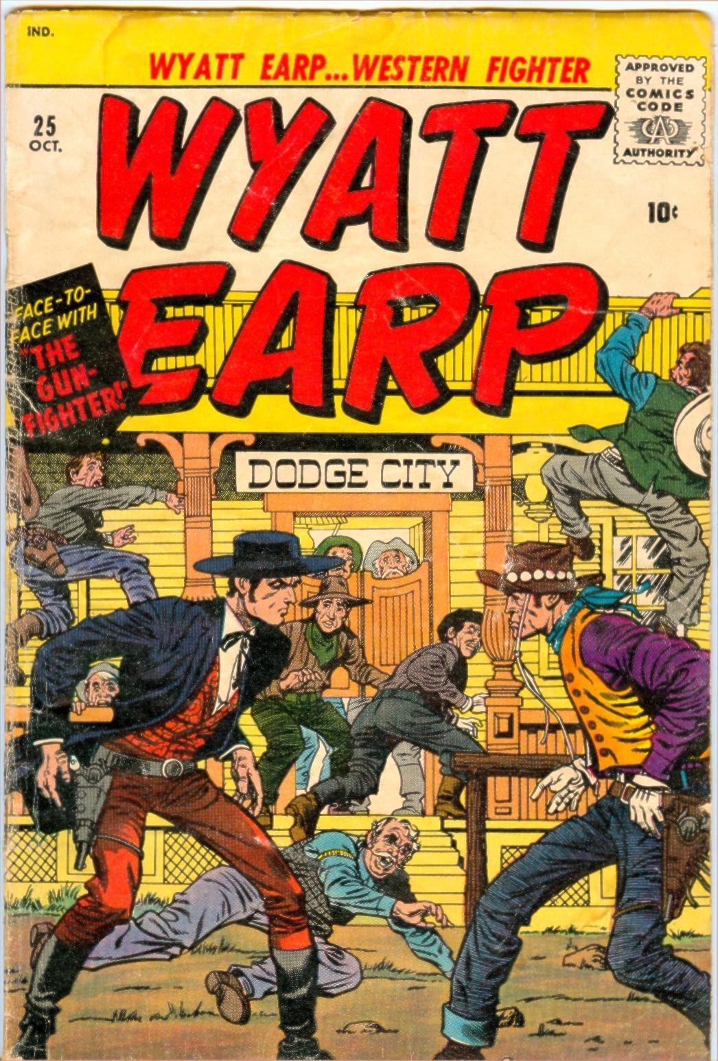 Wyatt Earp issue 25 - Page 1