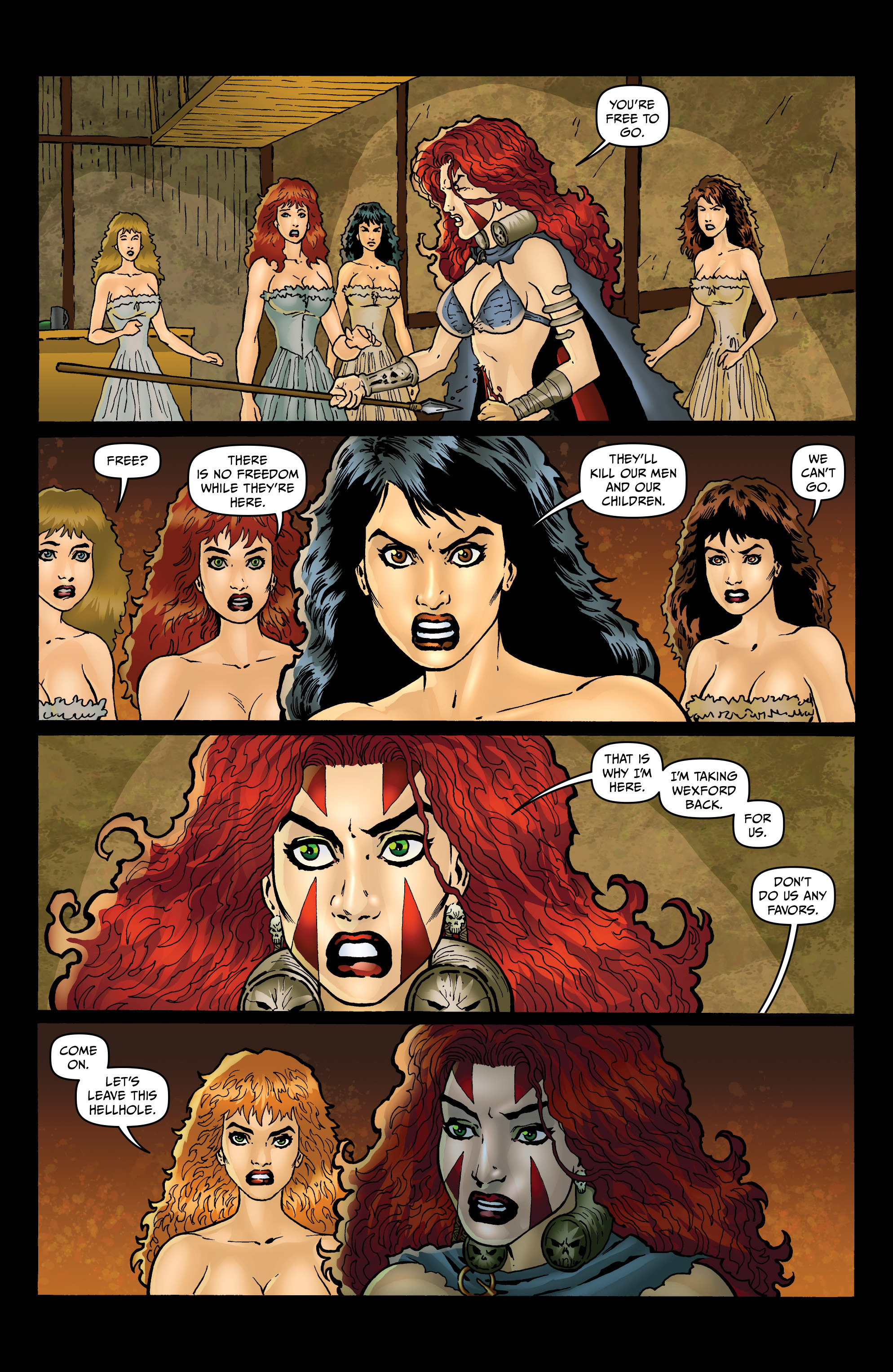 Read online Belladonna: Origins comic -  Issue #4 - 12