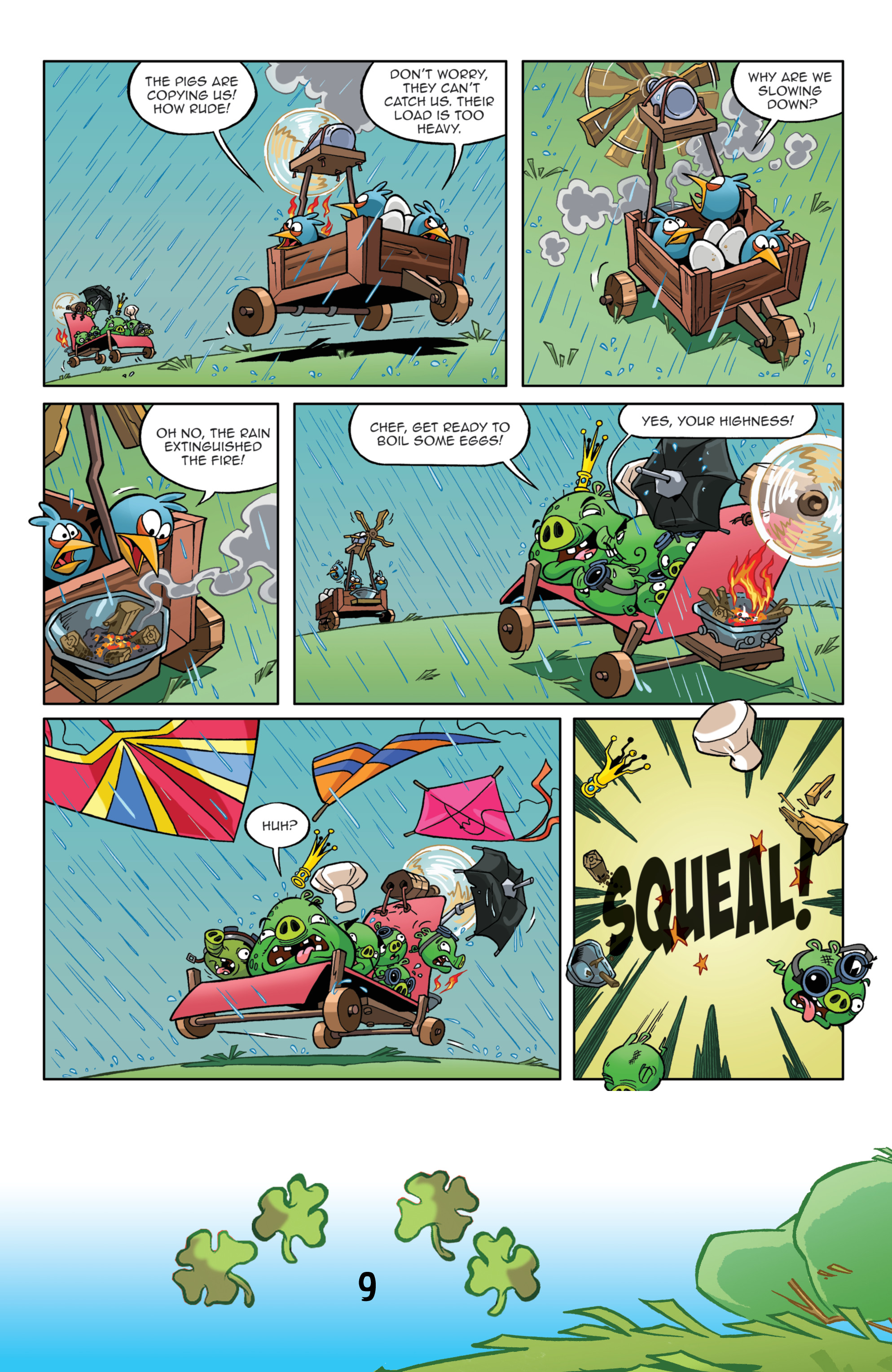 Read online Angry Birds Comics (2016) comic -  Issue #3 - 11