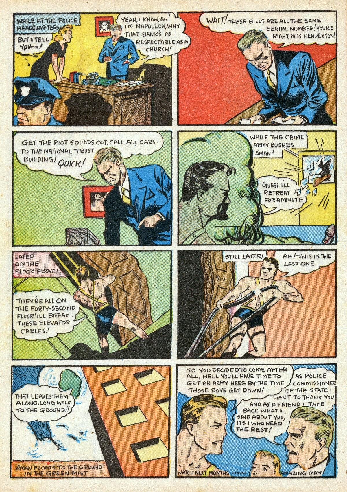 Read online Amazing Man Comics comic -  Issue #16 - 14