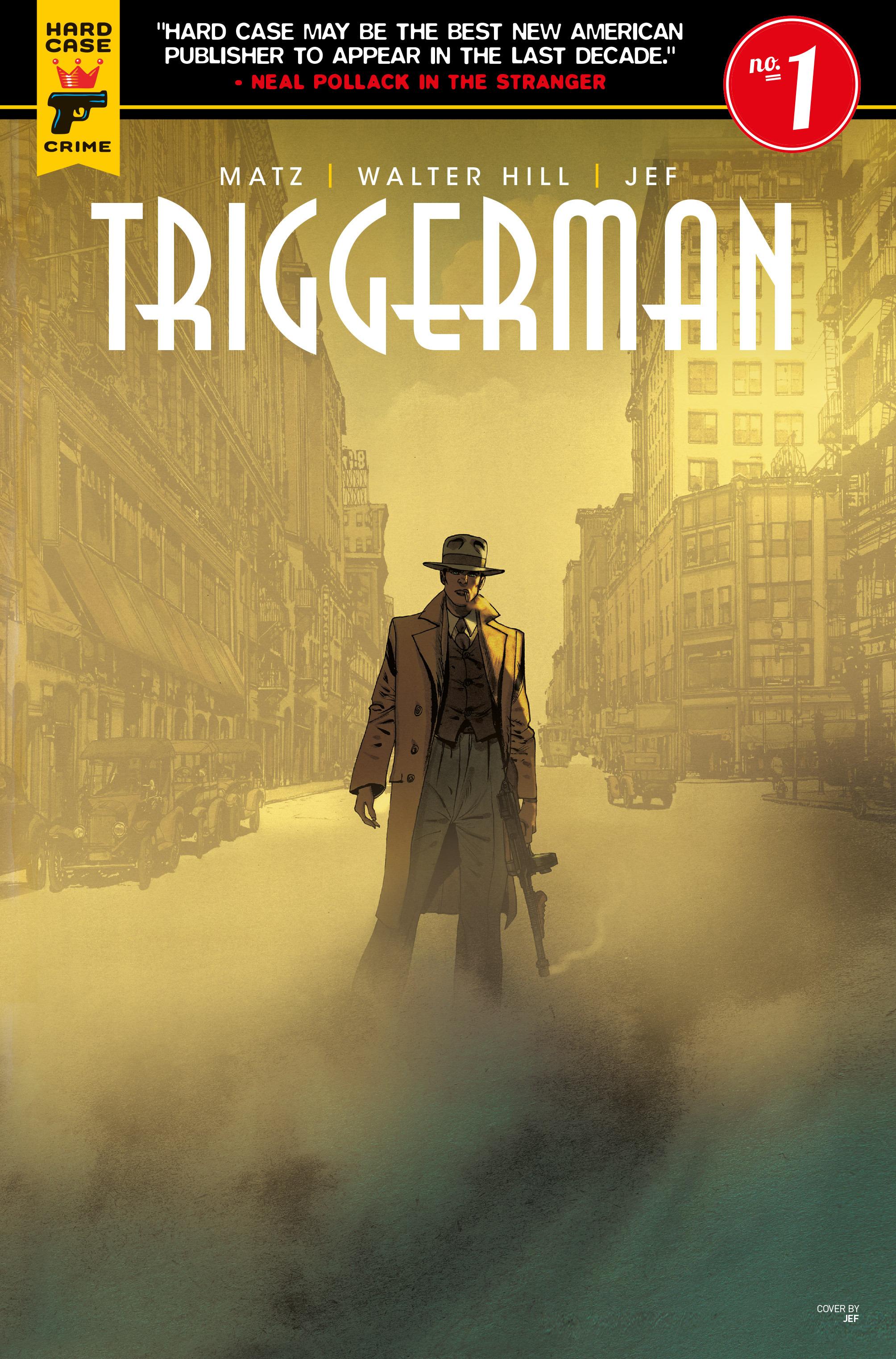 Read online Triggerman comic -  Issue #1 - 1