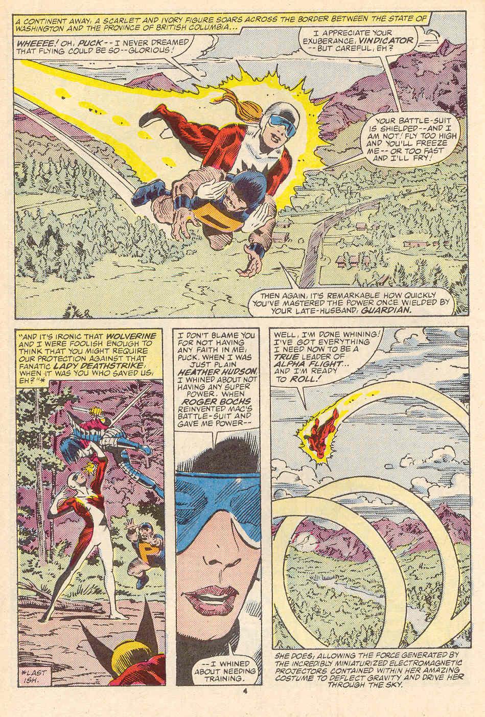Read online Alpha Flight (1983) comic -  Issue #35 - 5