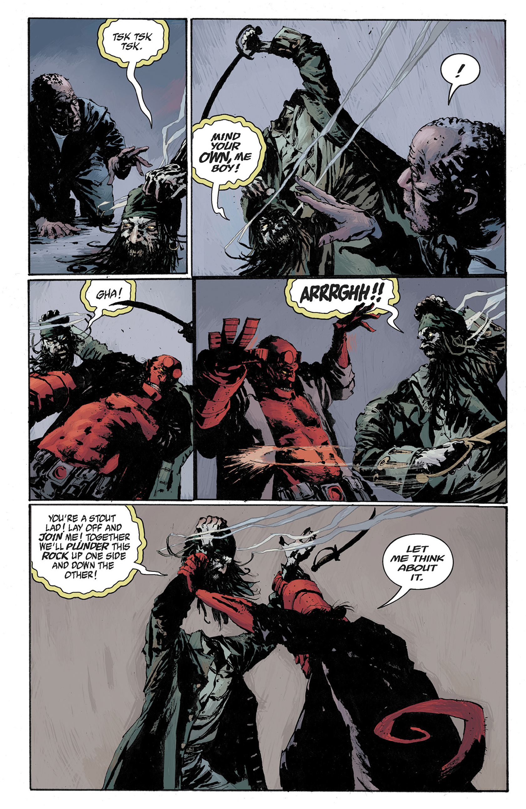 Read online Hellboy: The Crooked Man and Others comic -  Issue # TPB - 104