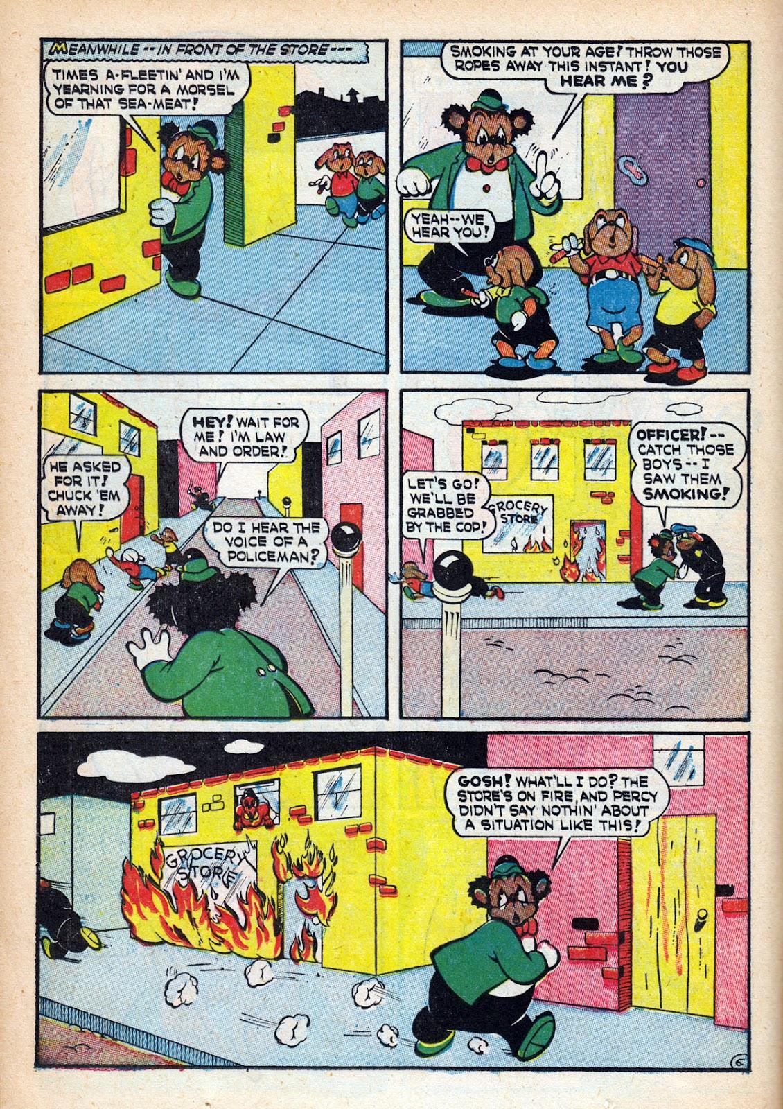 Read online Comedy Comics (1942) comic -  Issue #15 - 22
