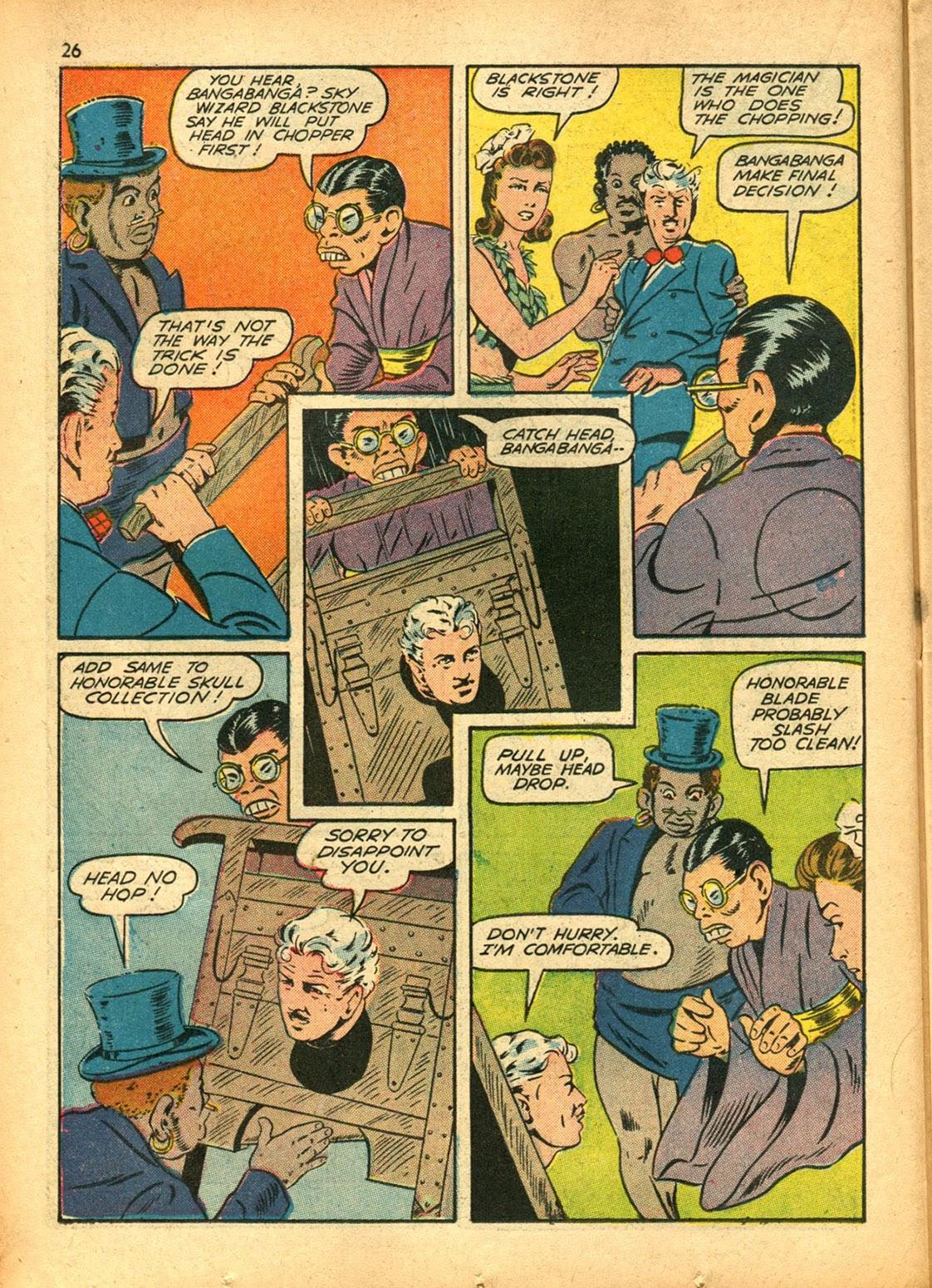 Read online Super-Magician Comics comic -  Issue #15 - 26