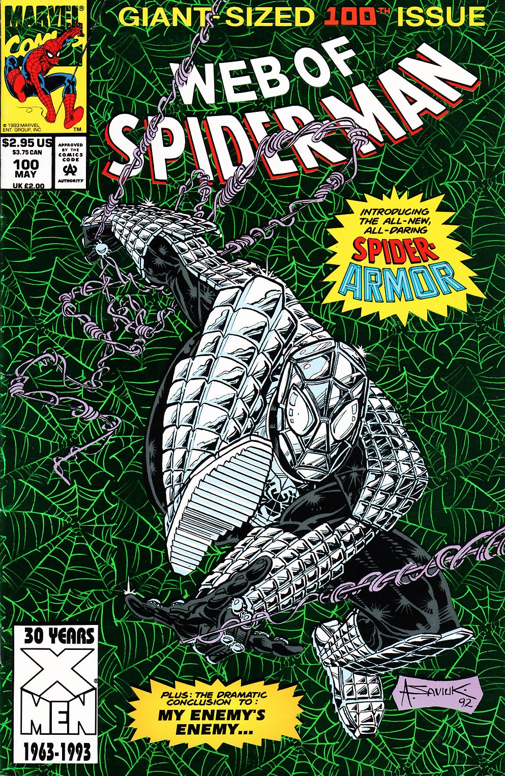 Web of Spider-Man (1985) 100 Page 1
