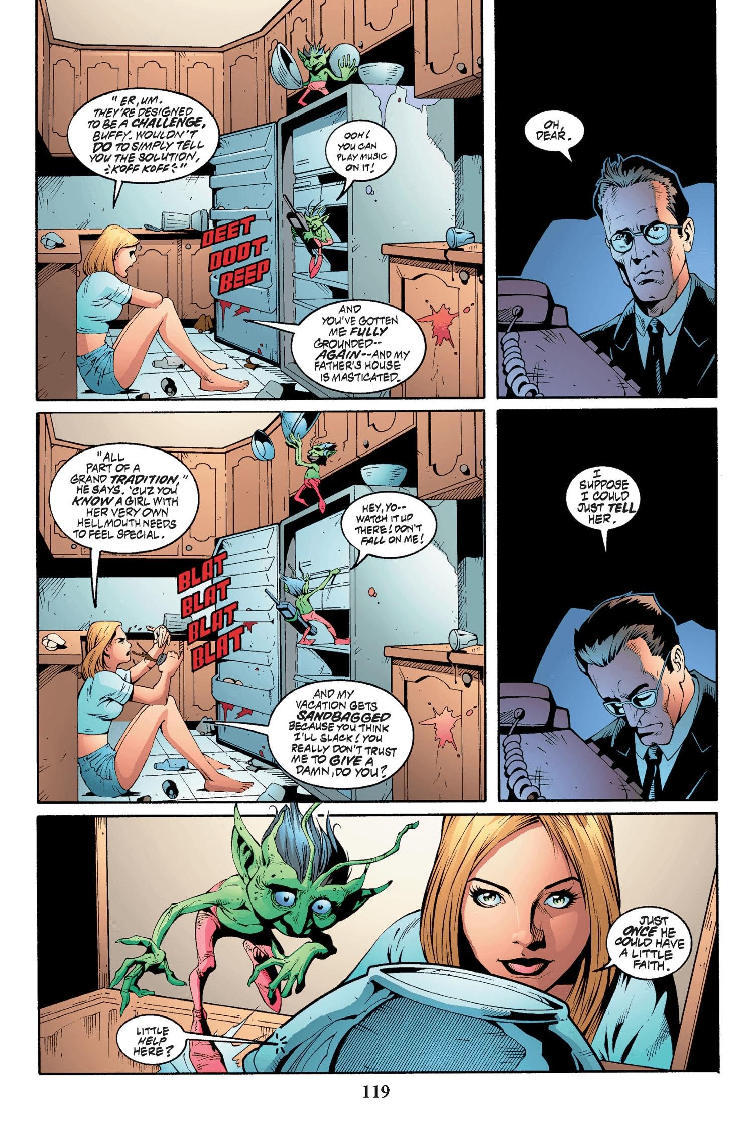Read online Buffy the Vampire Slayer: Omnibus comic -  Issue # TPB 2 - 114