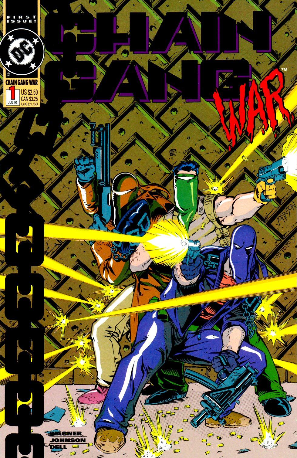 Chain Gang War 1 Page 1