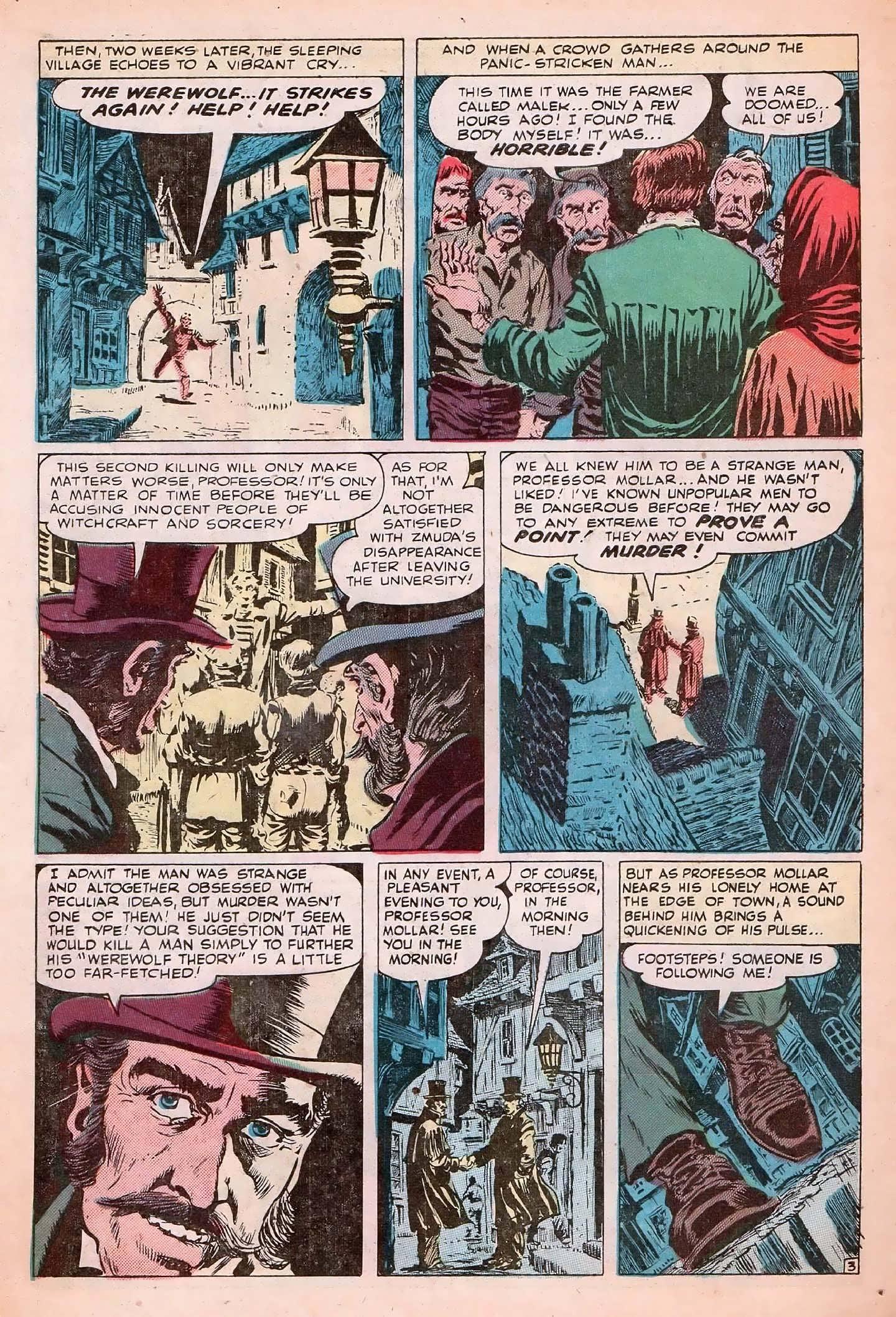 Read online Adventures into Weird Worlds comic -  Issue #20 - 30