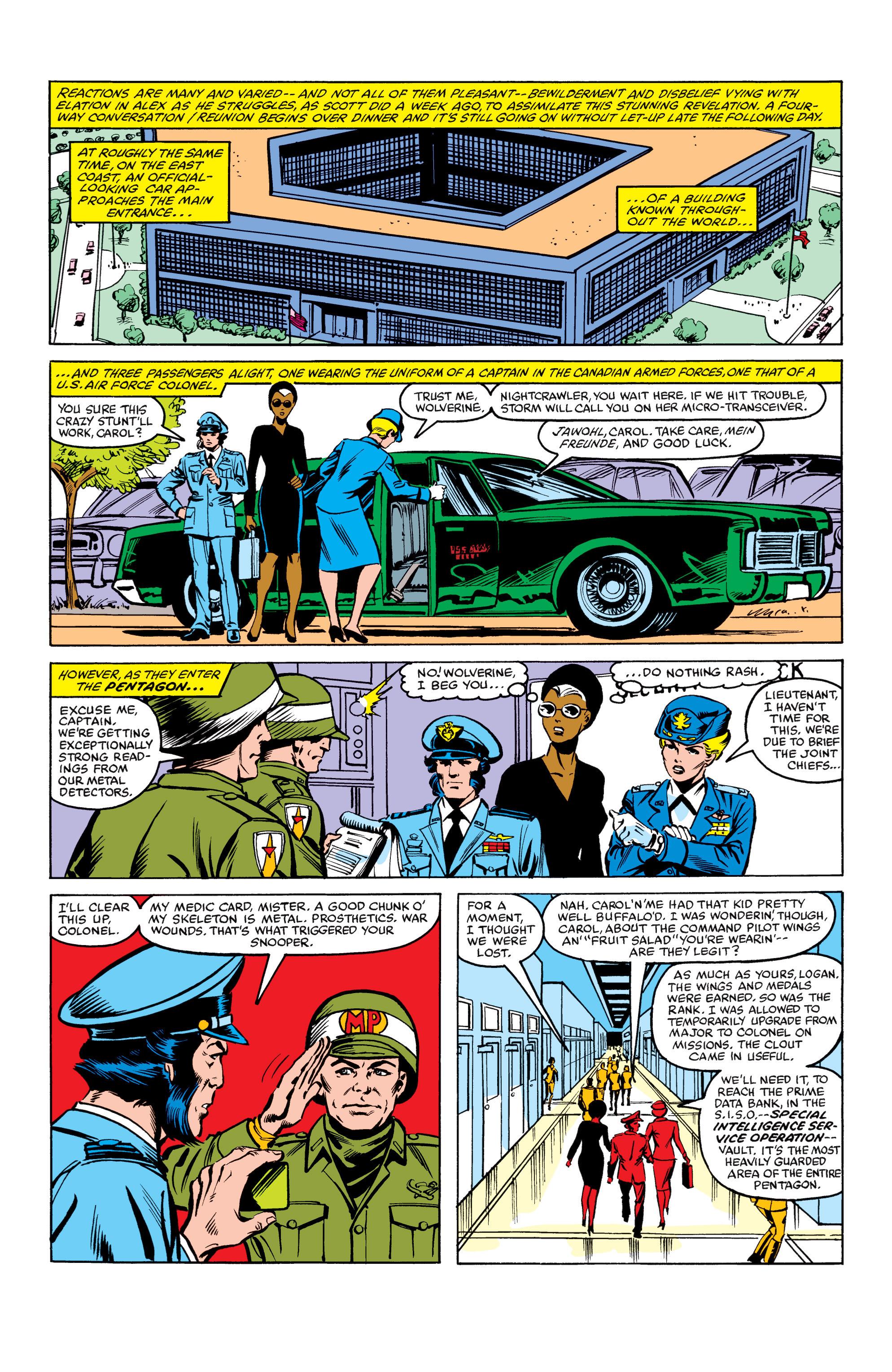 Read online Uncanny X-Men (1963) comic -  Issue #158 - 12