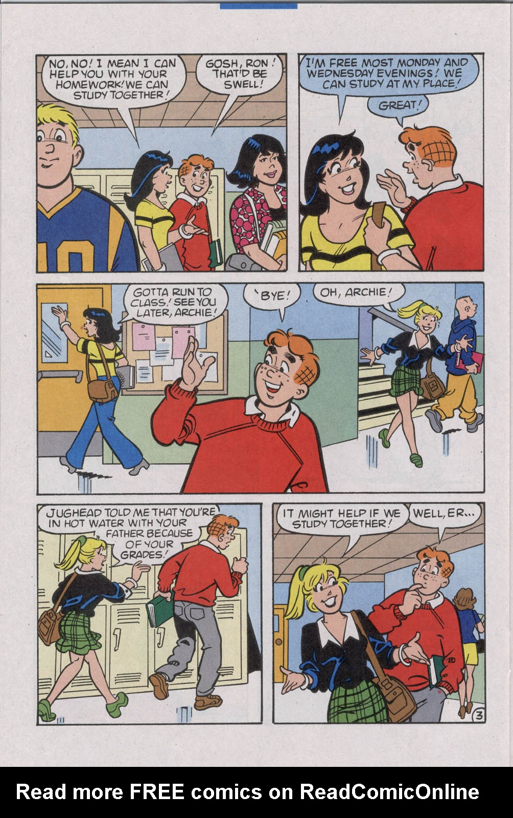 Read online Archie (1960) comic -  Issue #535 - 24