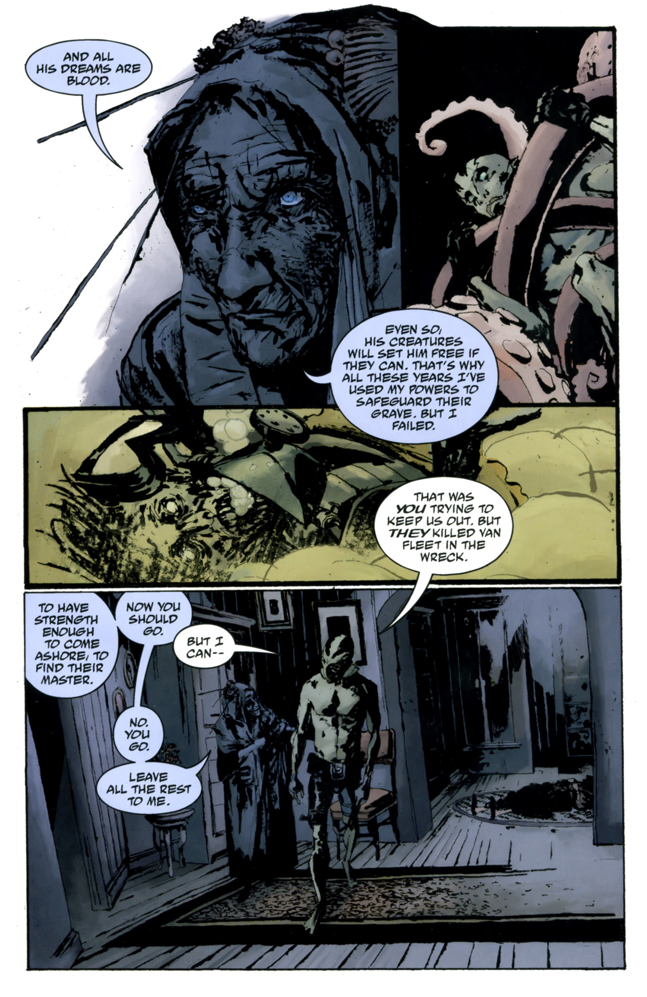 Read online Abe Sapien: The Drowning comic -  Issue #4 - 22