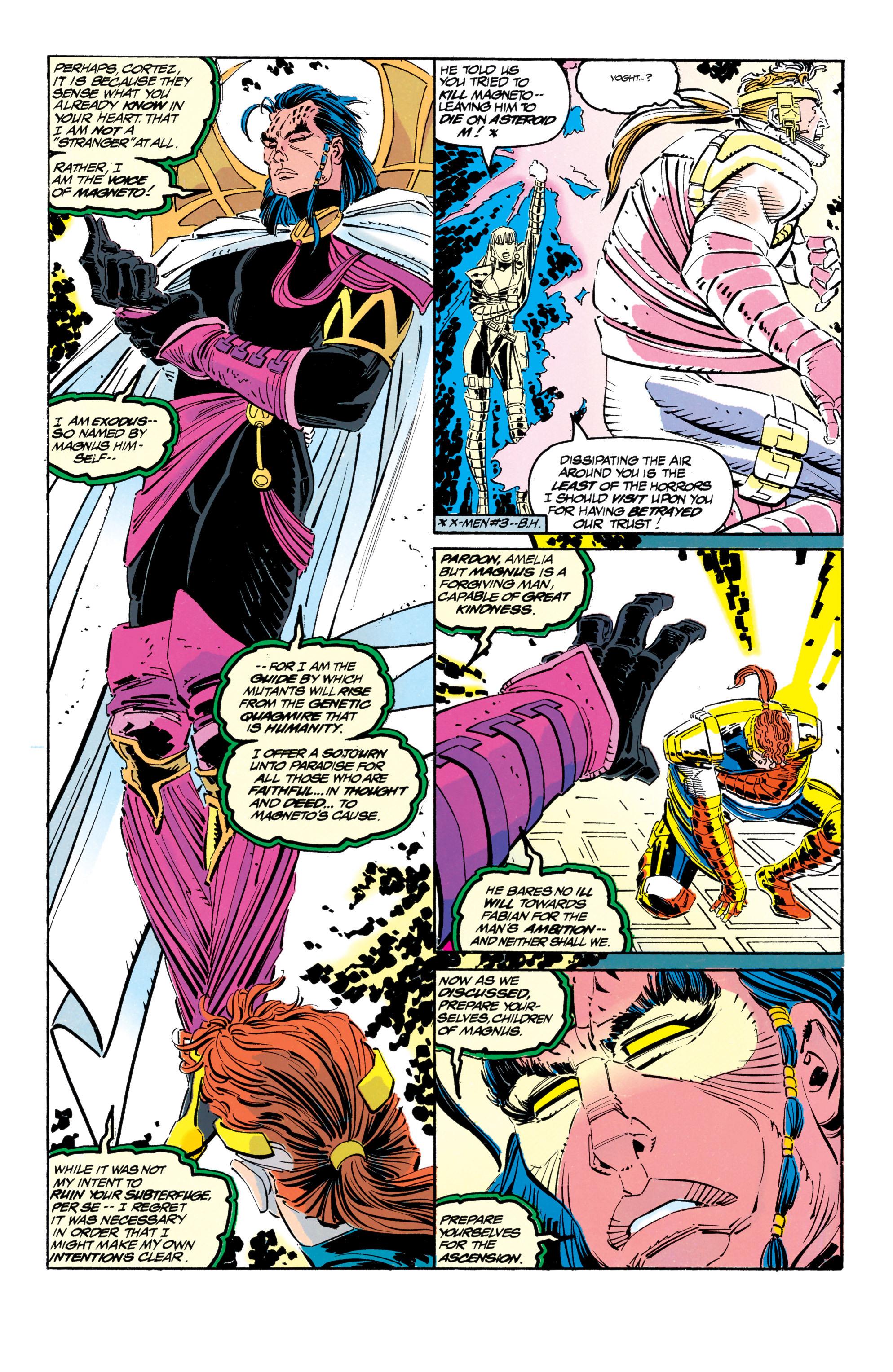 Read online Uncanny X-Men (1963) comic -  Issue #304 - 4